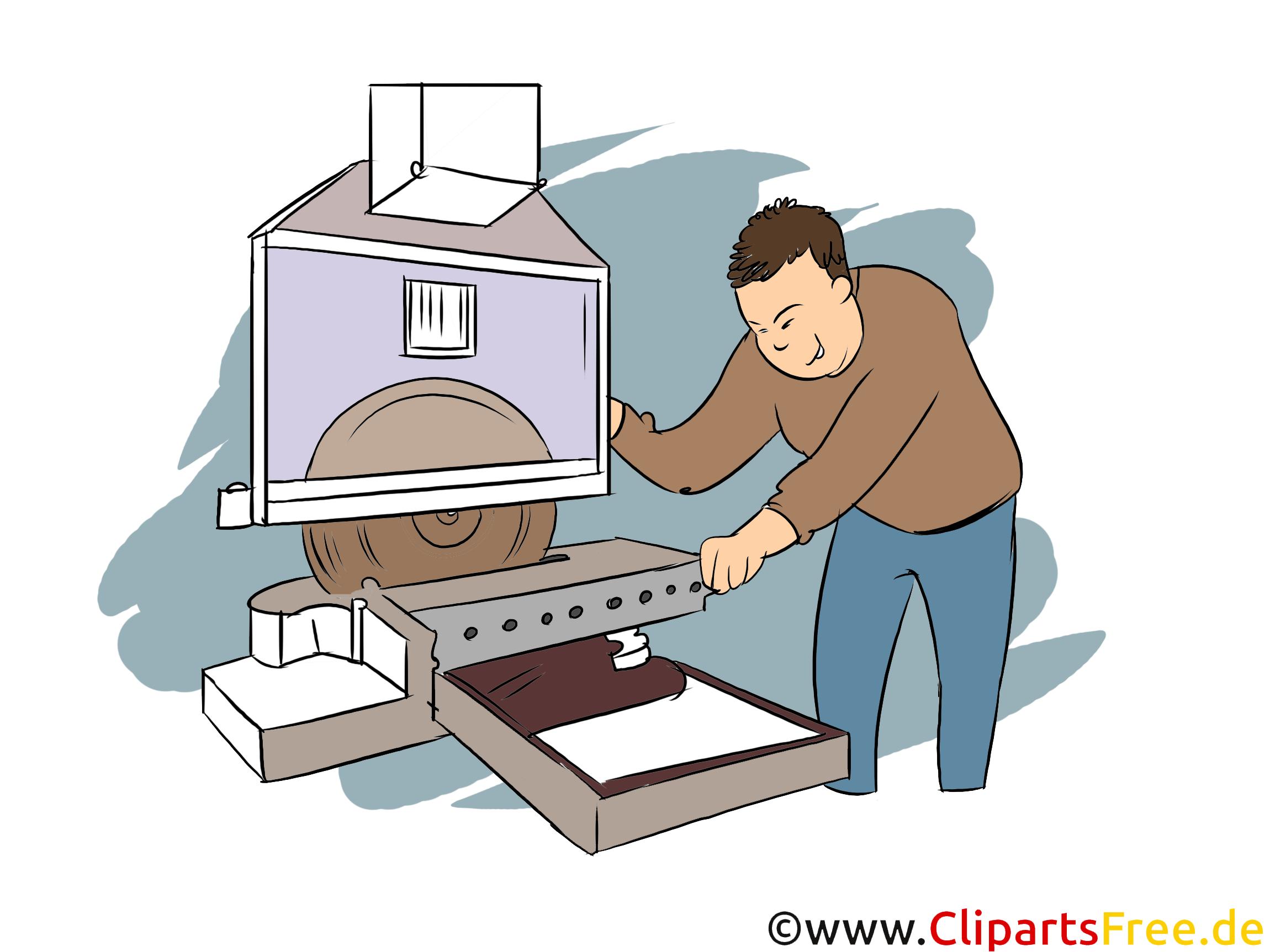 Metallbauer Clipart, Bild, Grafik zum Thema Ausbildungsberufe