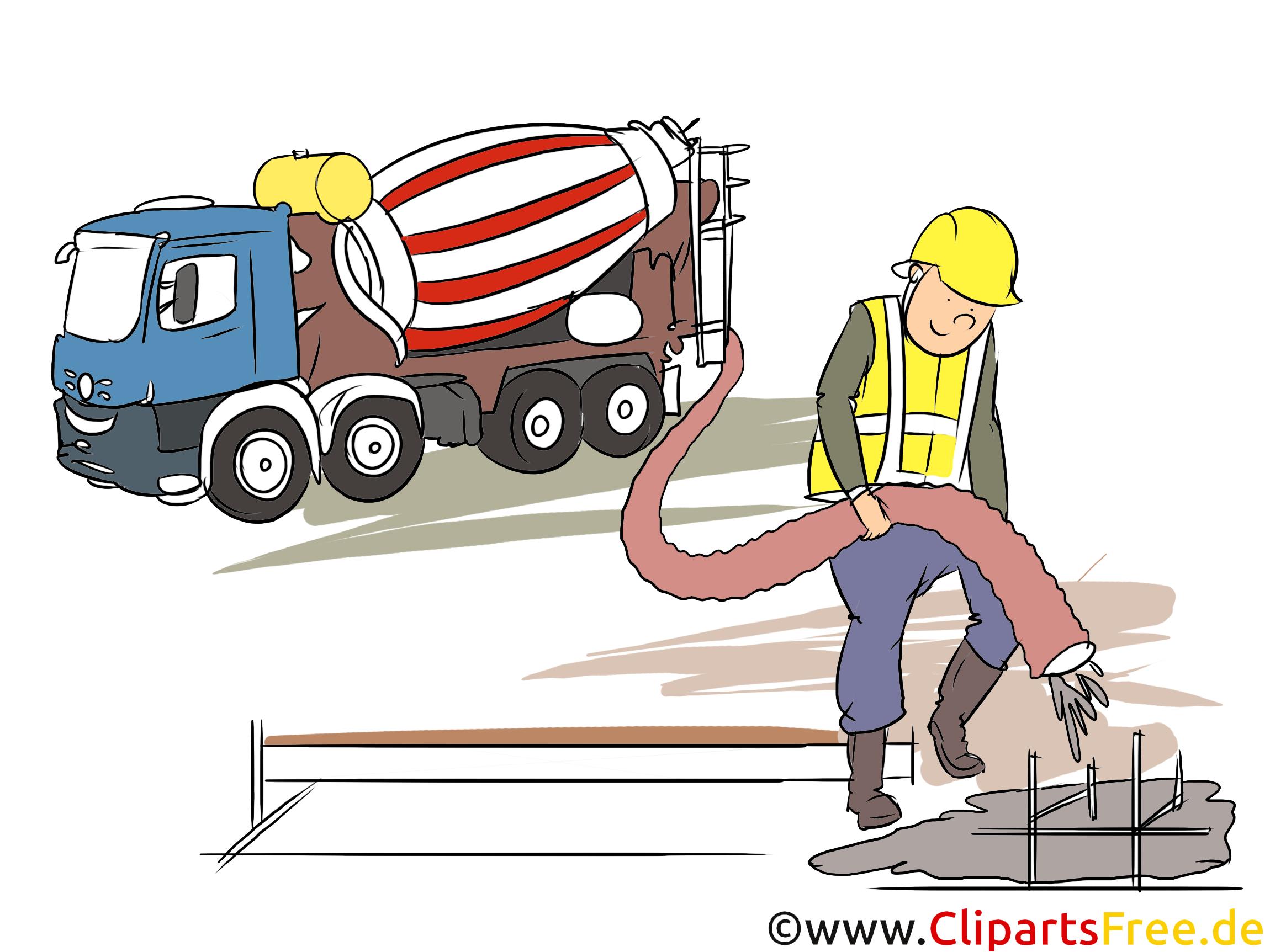 Stahlbauer Clipart, Bild, Grafik zum Thema Ausbildungsberufe