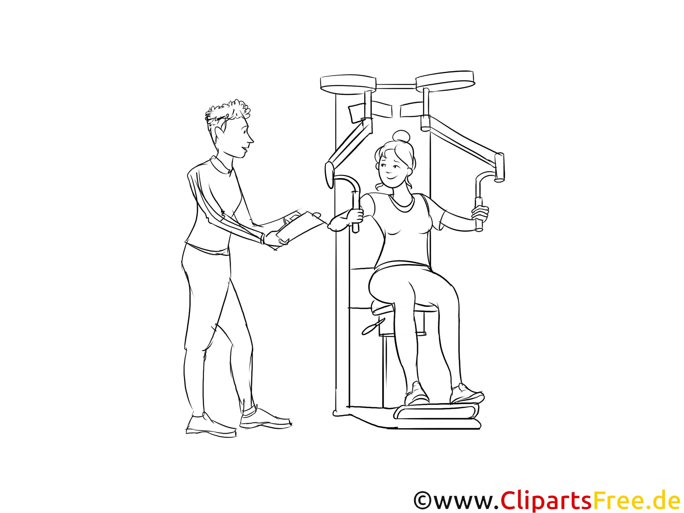 Ausbildung als Sport und Fitnesskaufmann Bild, Grafik, Clipart