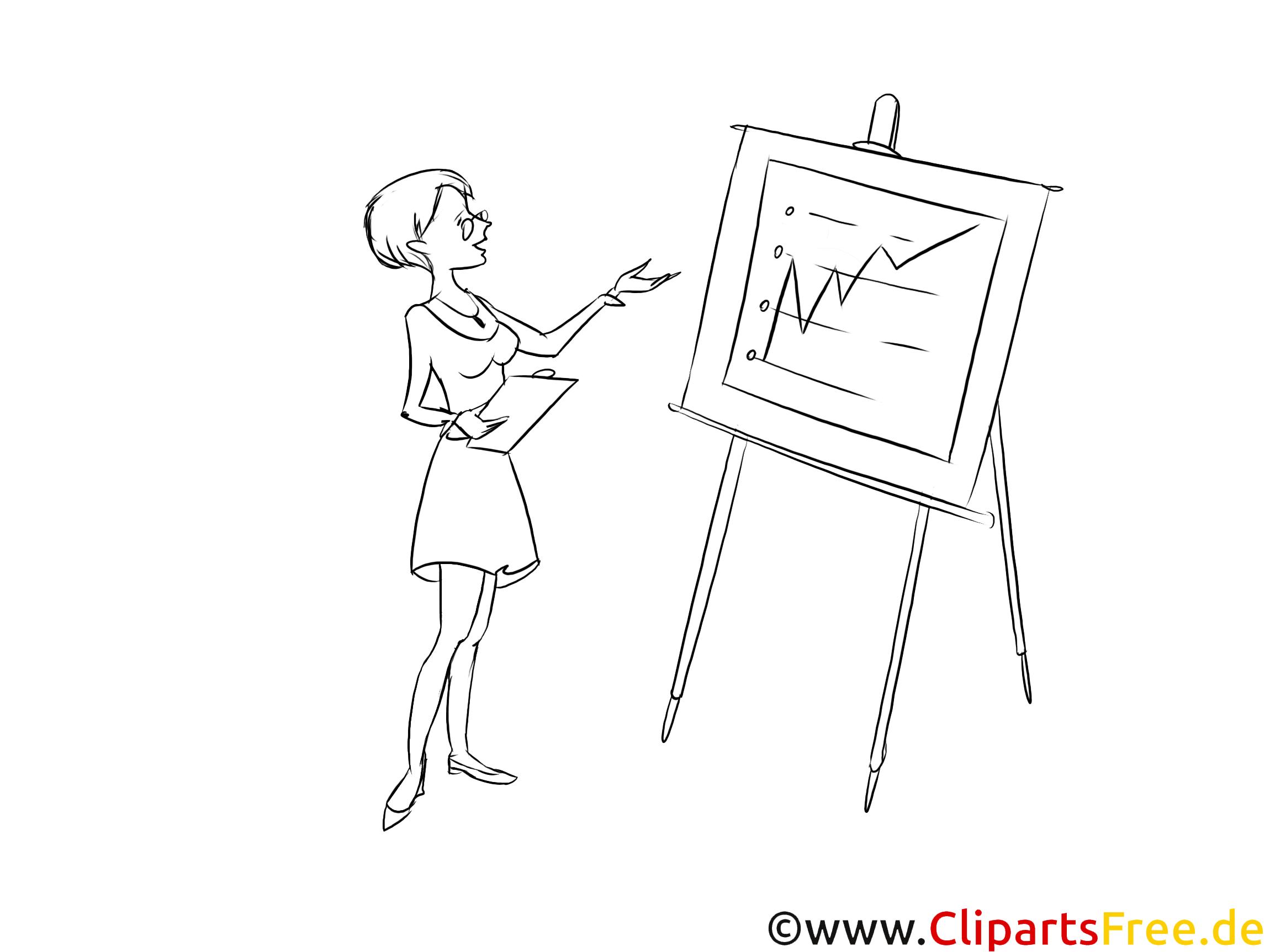 Kaufmann für Finanzbuchhaltung und Controlling Clipart schwarz weiß