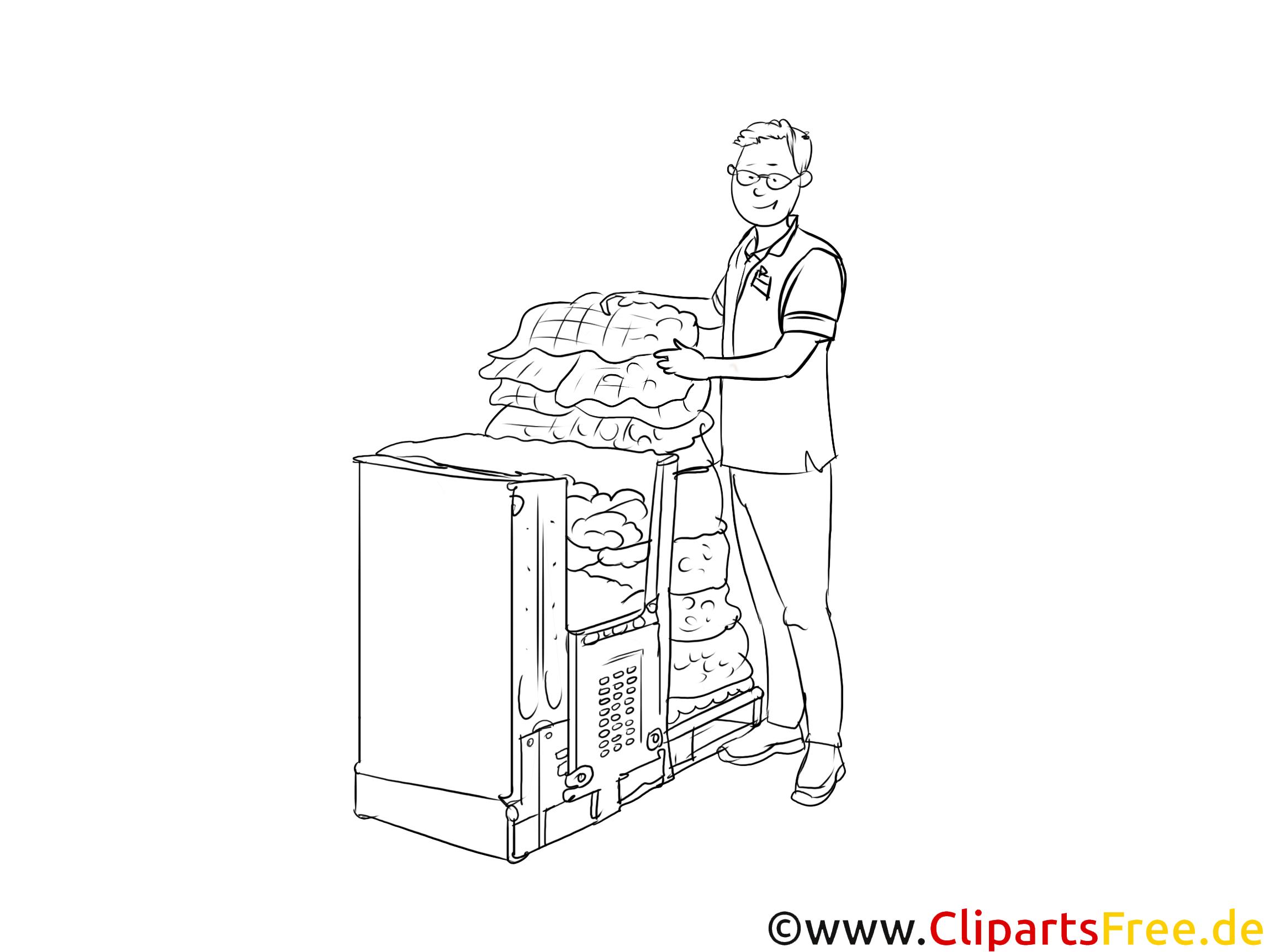 Kaufmann im Einzelhandel Clipart-Bilder für Präsentationen