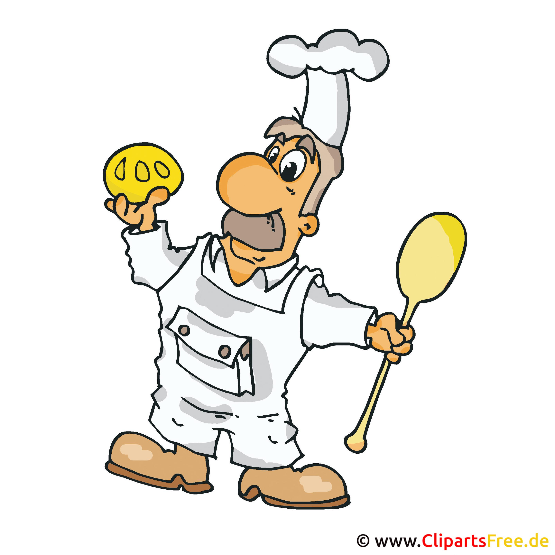 Bäcker Clip Art Bild kostenlos
