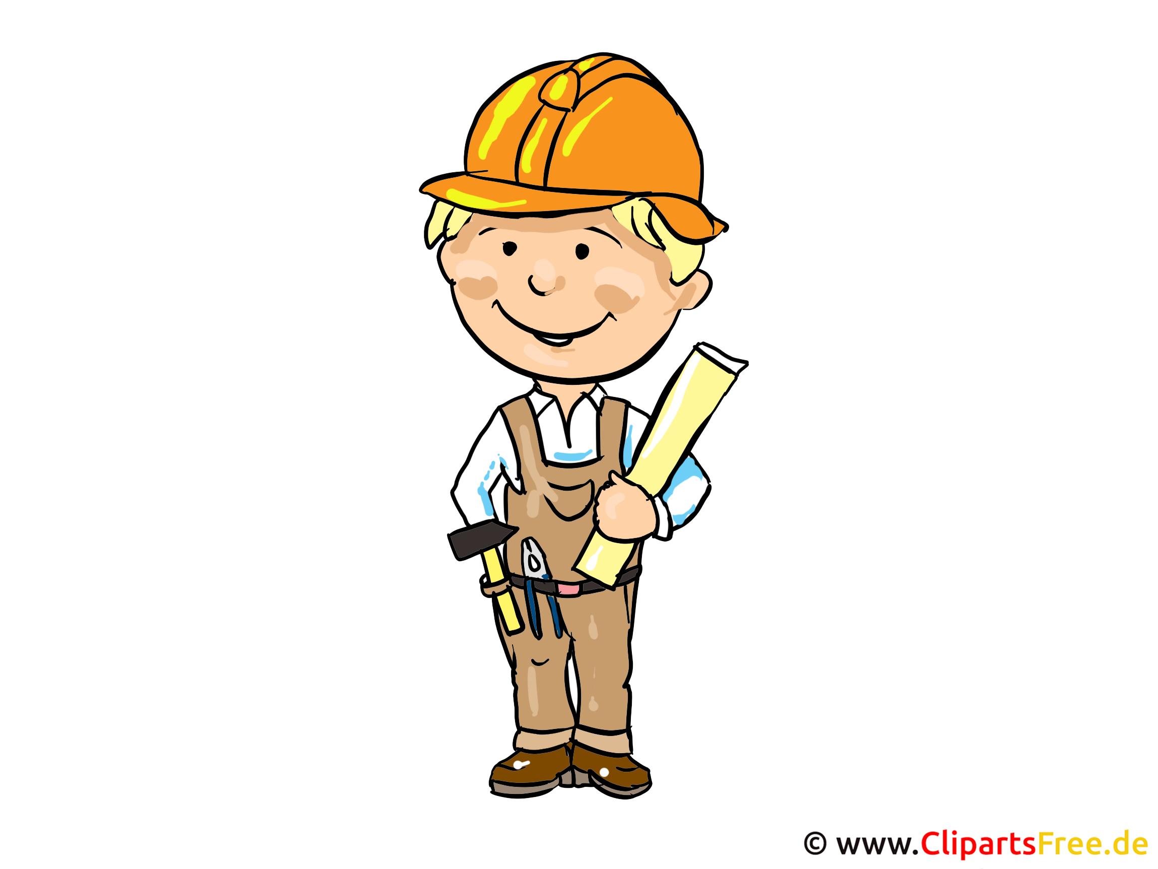 Baumeister Bild - Berufe Bilder kostenlos