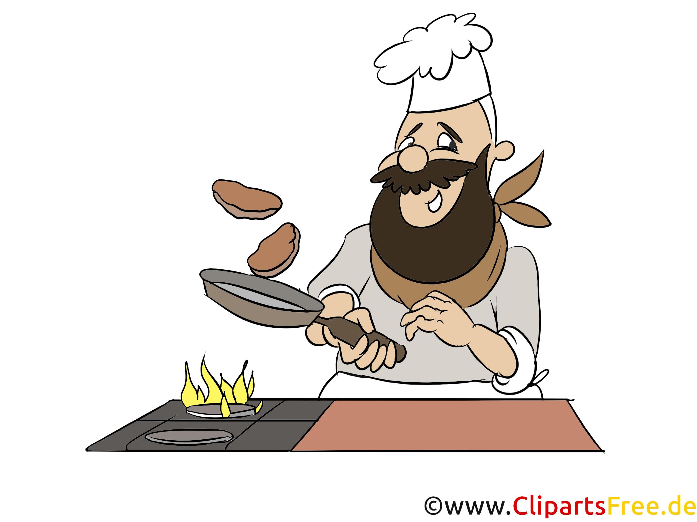 Clipart Kochen gratis