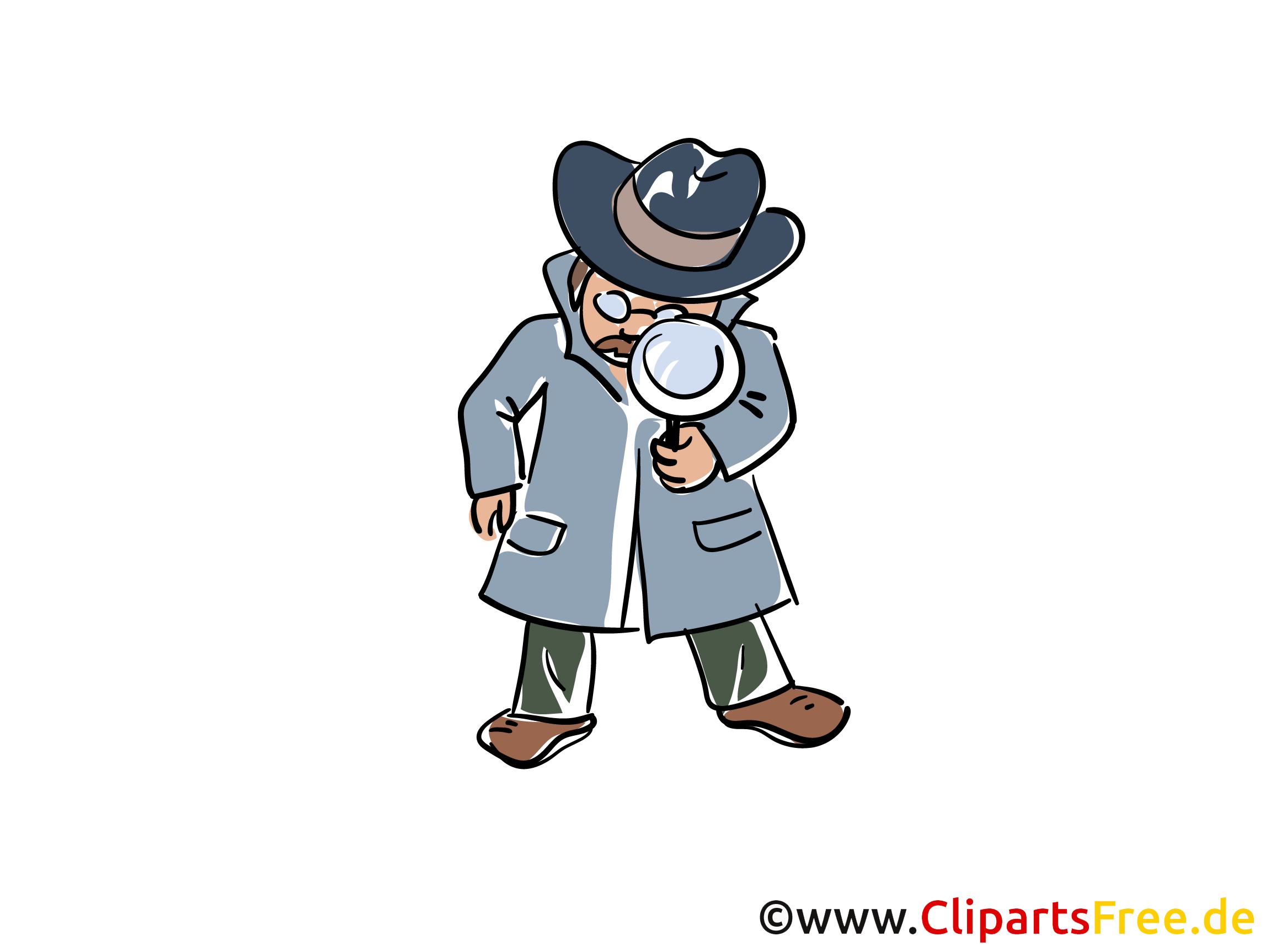 Detektiv Illustrationen und Clip Art