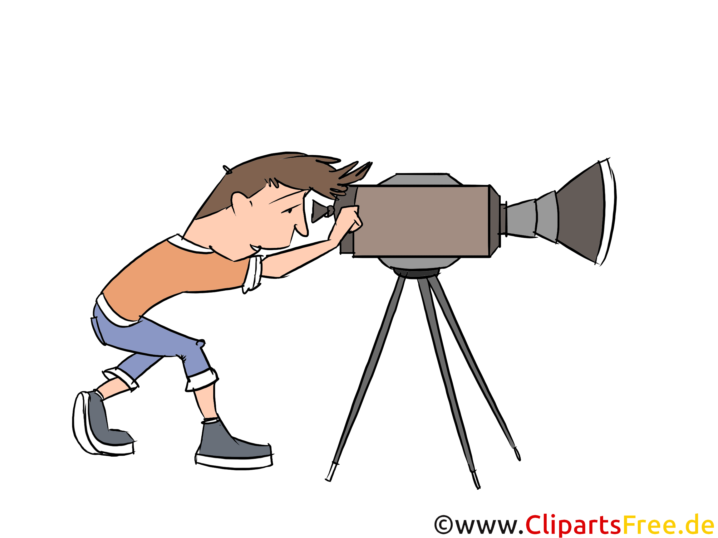 Kameramann Clipart
