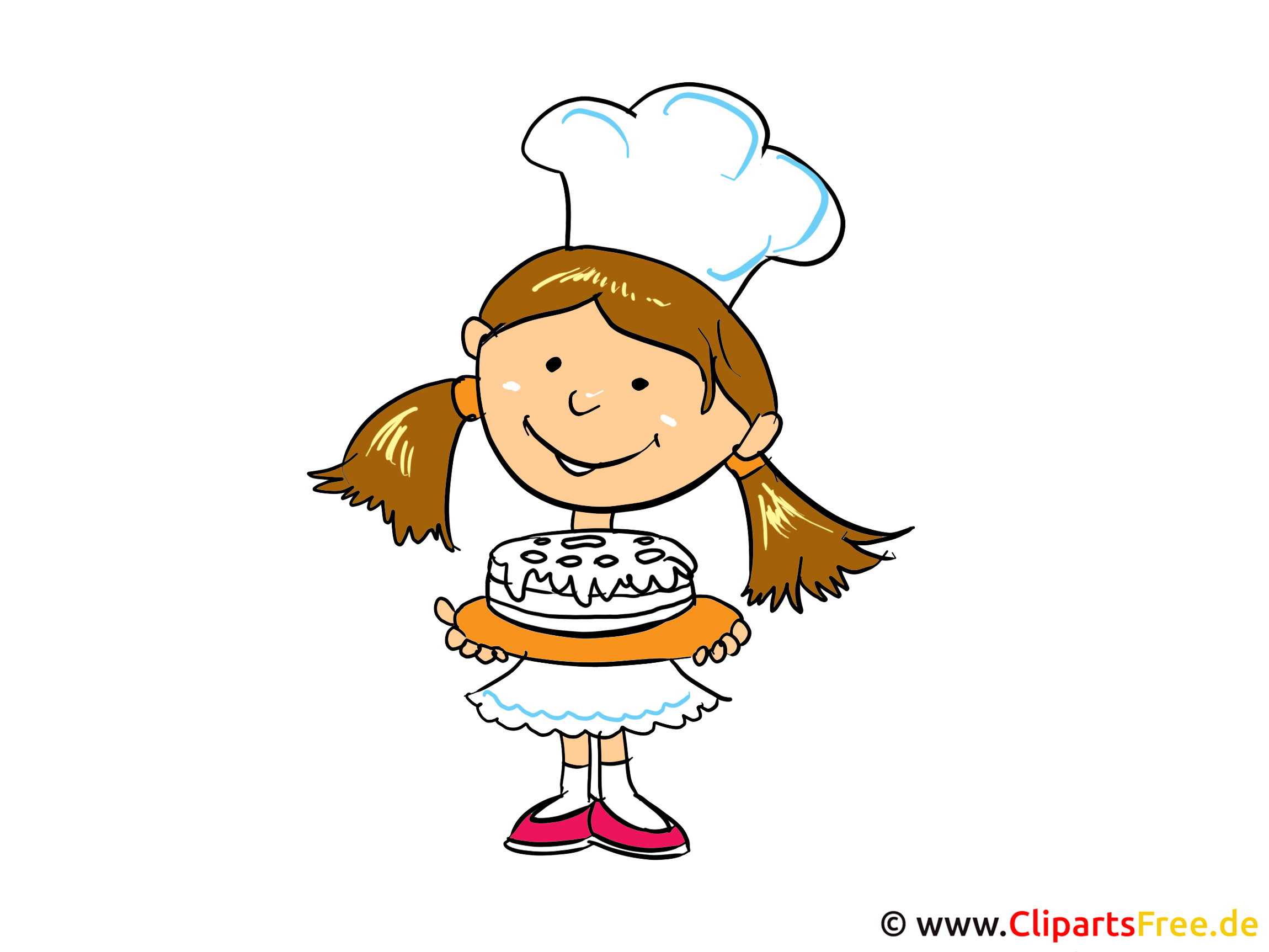 Konditorei Clipart, Bild, Cartoon gratis