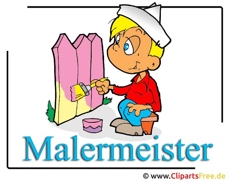 Malermeister Clipart free Berufe