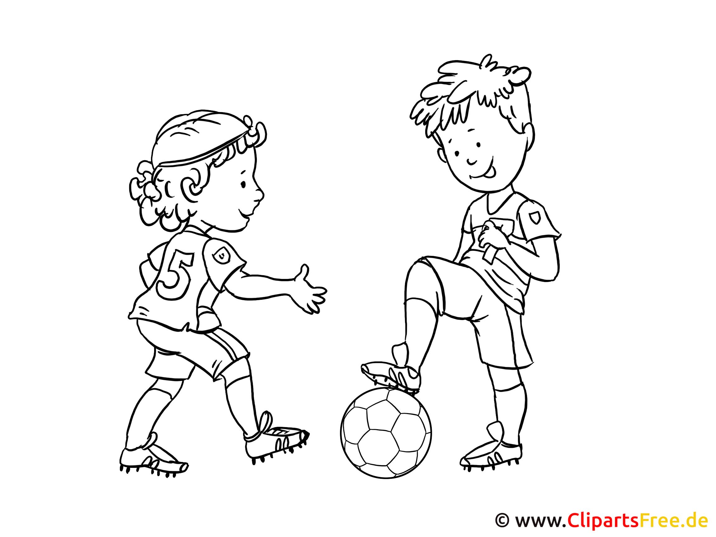 futbol boyama için görüntüleri şablonları