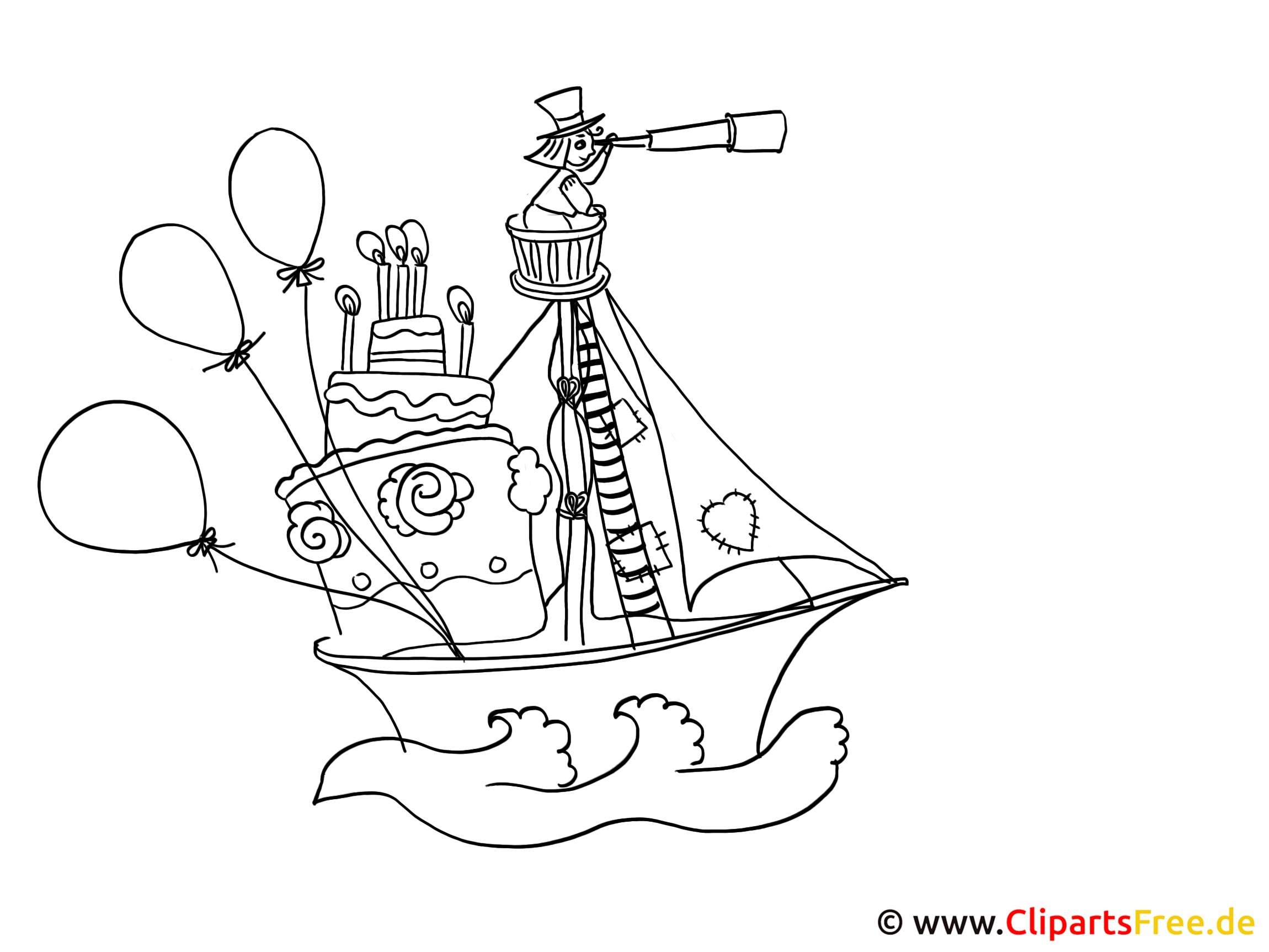 Lustige bilder malen piratenschiff - Lustige bilder zum ausdrucken ...