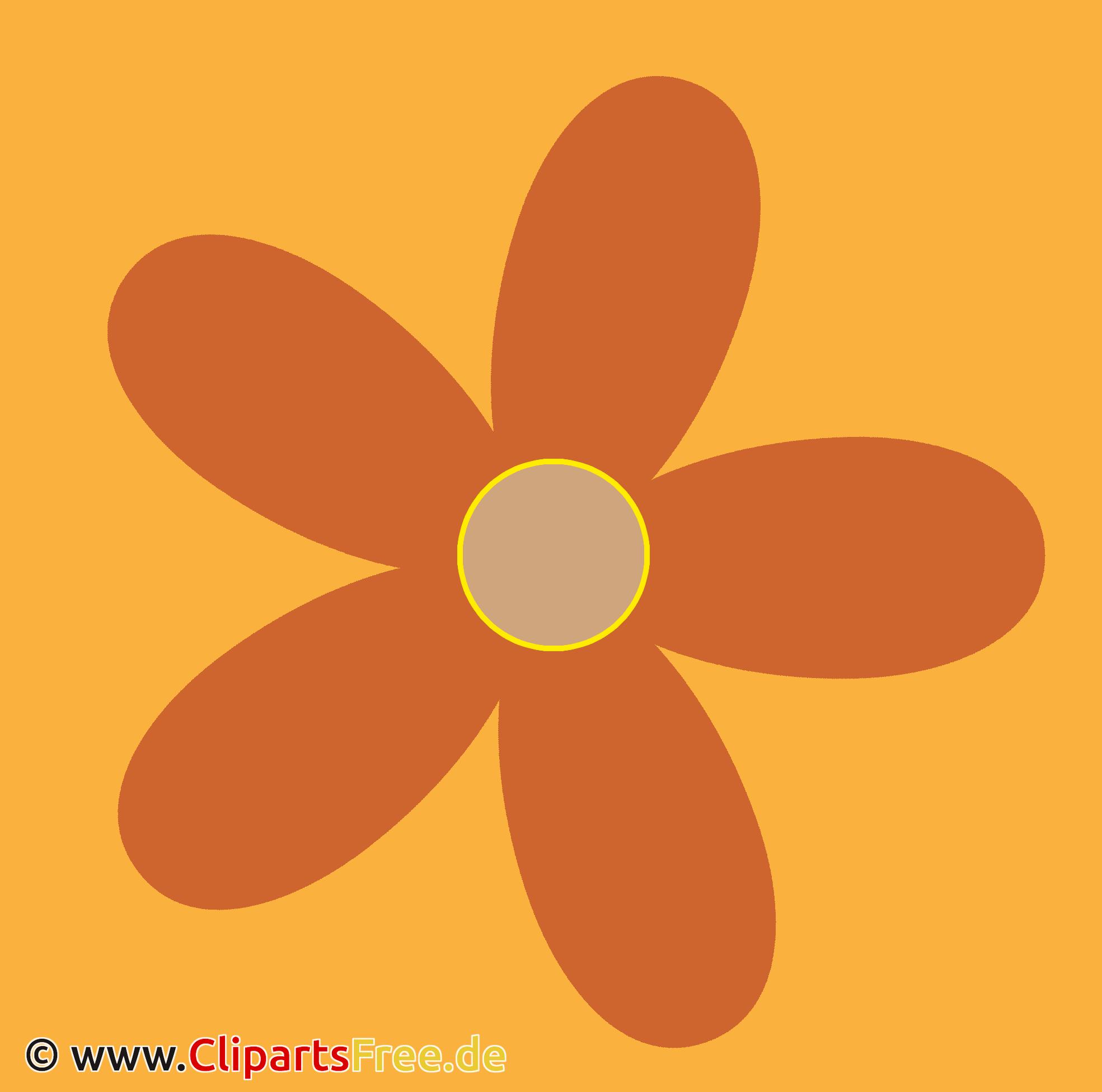Icon mit Blume