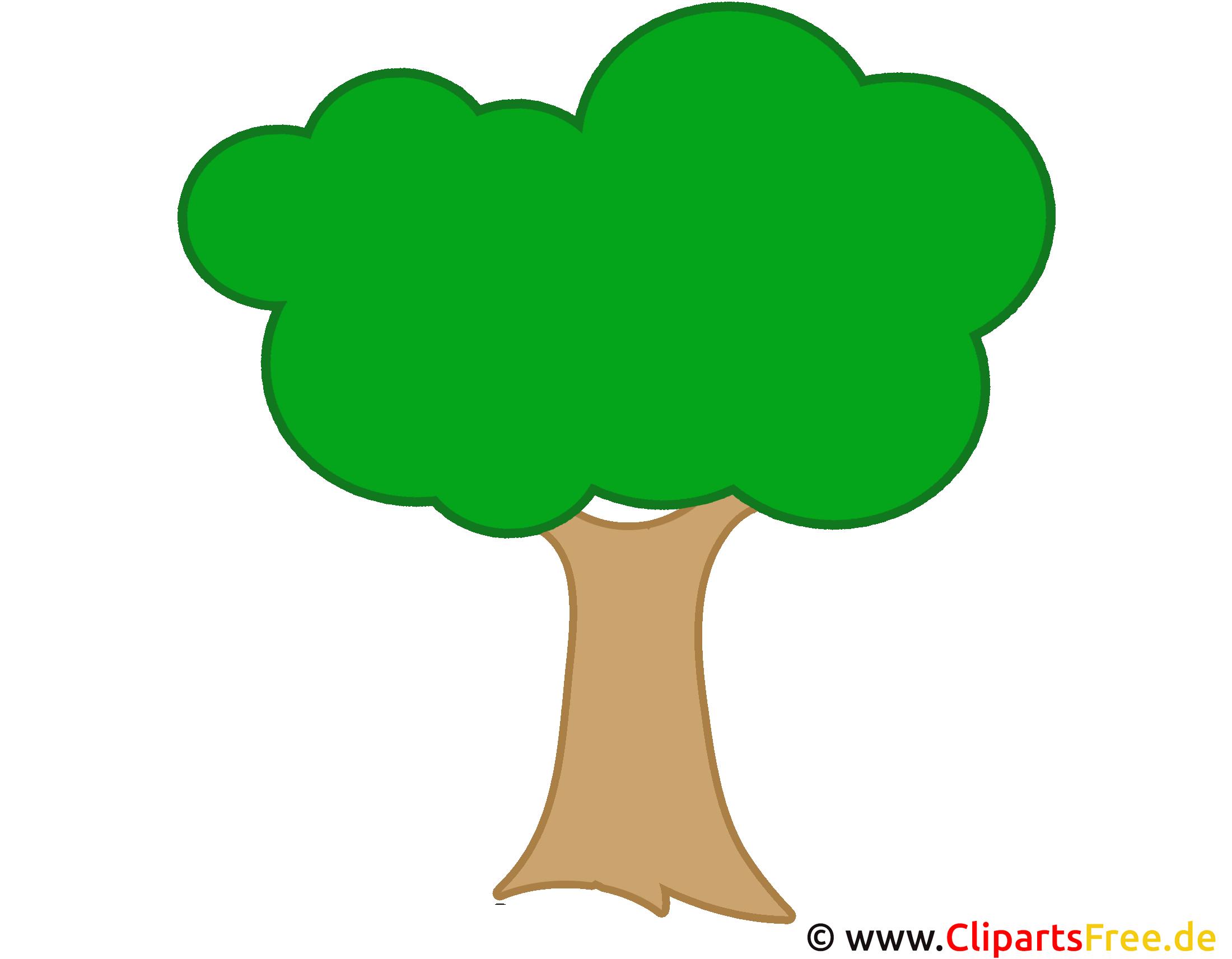 Cartoon Baum Clip Art