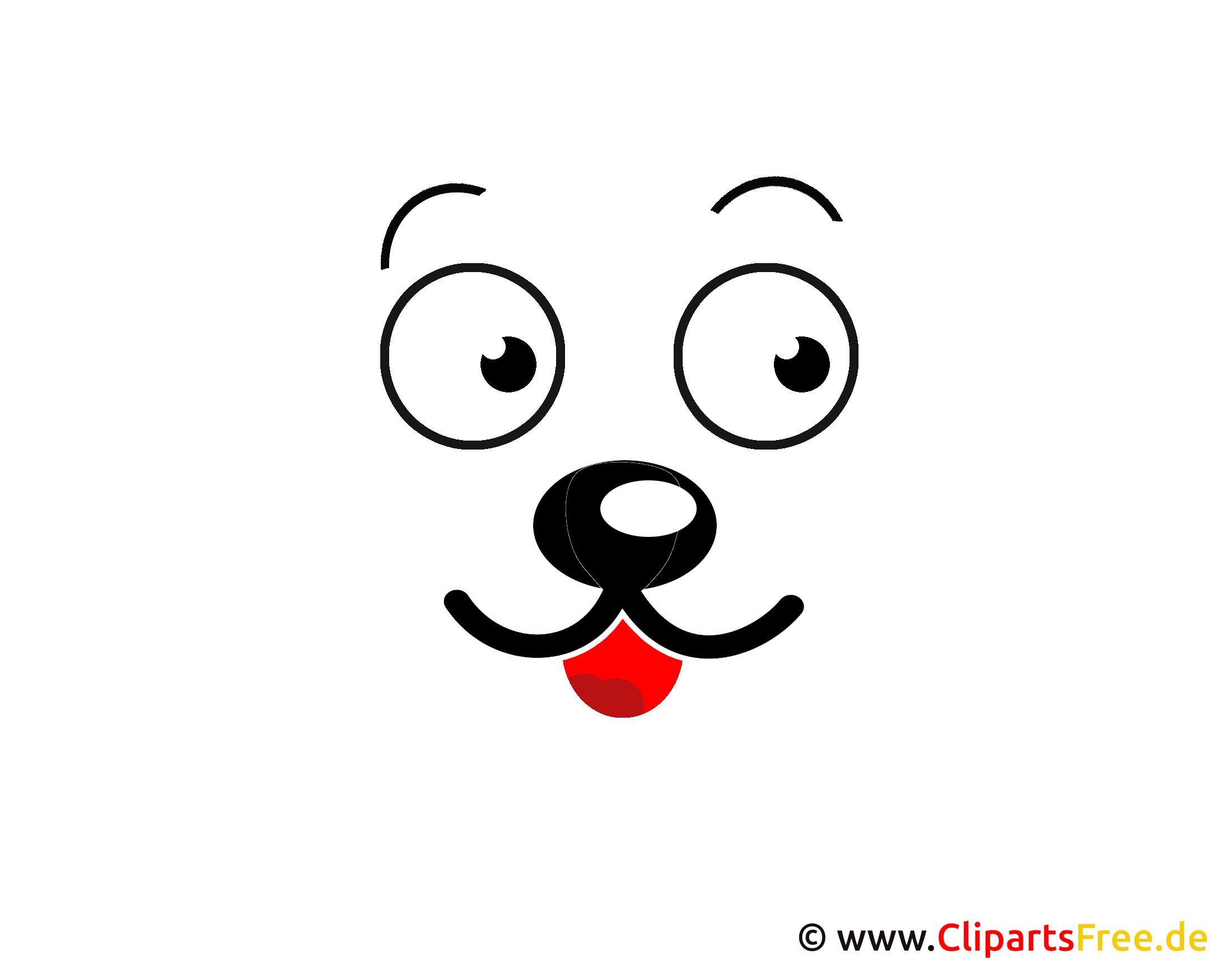Cartoon Gesicht Clipart