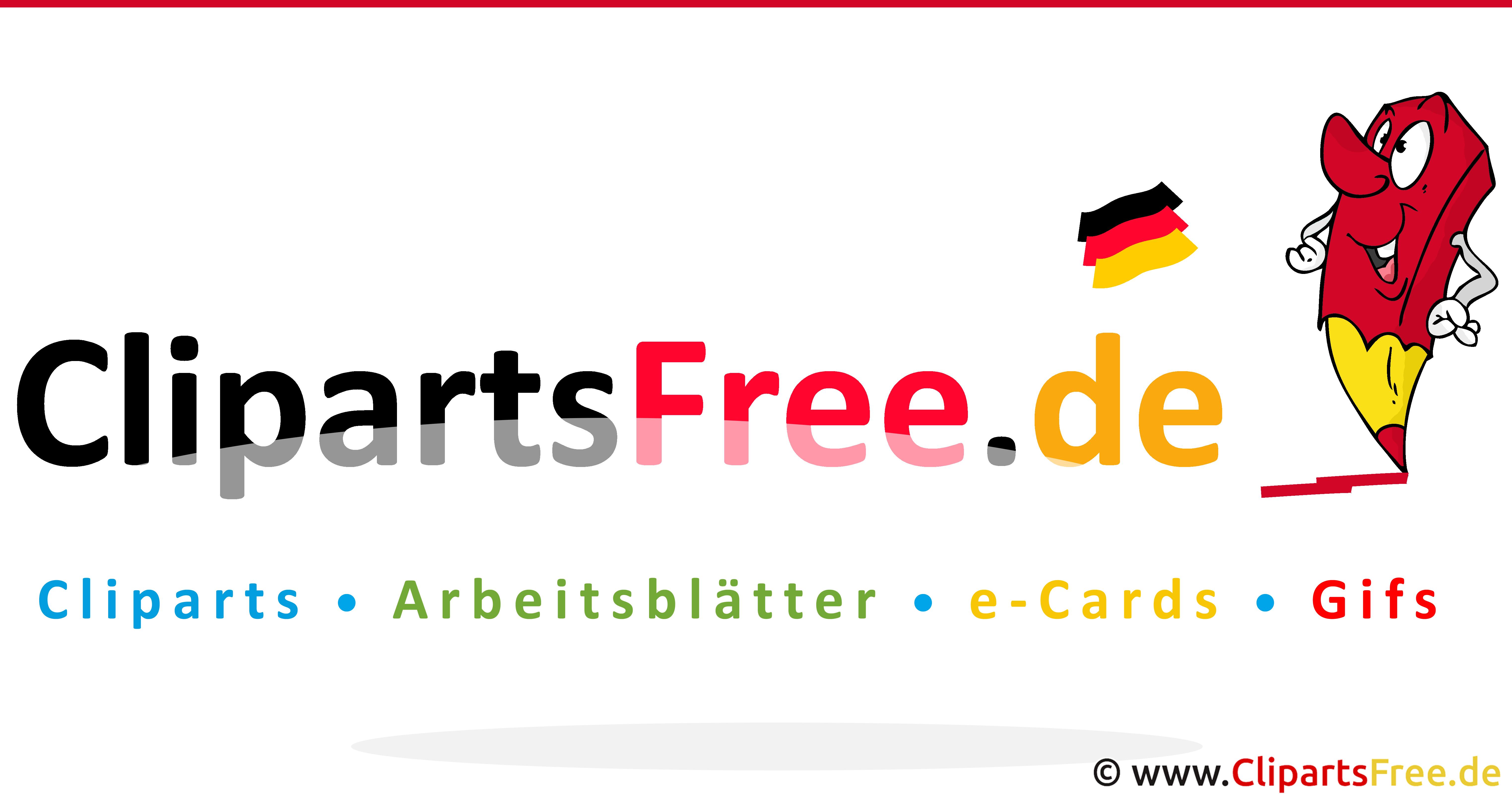 Clipartsfree.de Logo - Kostenlose Bilder, Grafiken, eCards, Arbeitsblätter, Cartoons