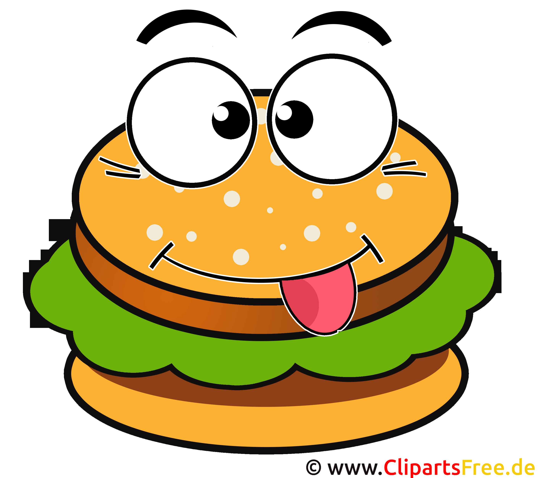 Hamburger cartoon clip art for Hamburger clipart