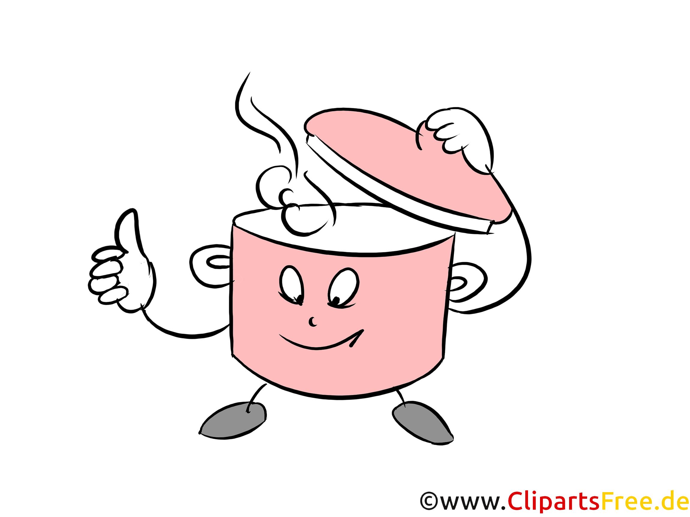 Suppentopf Clipart