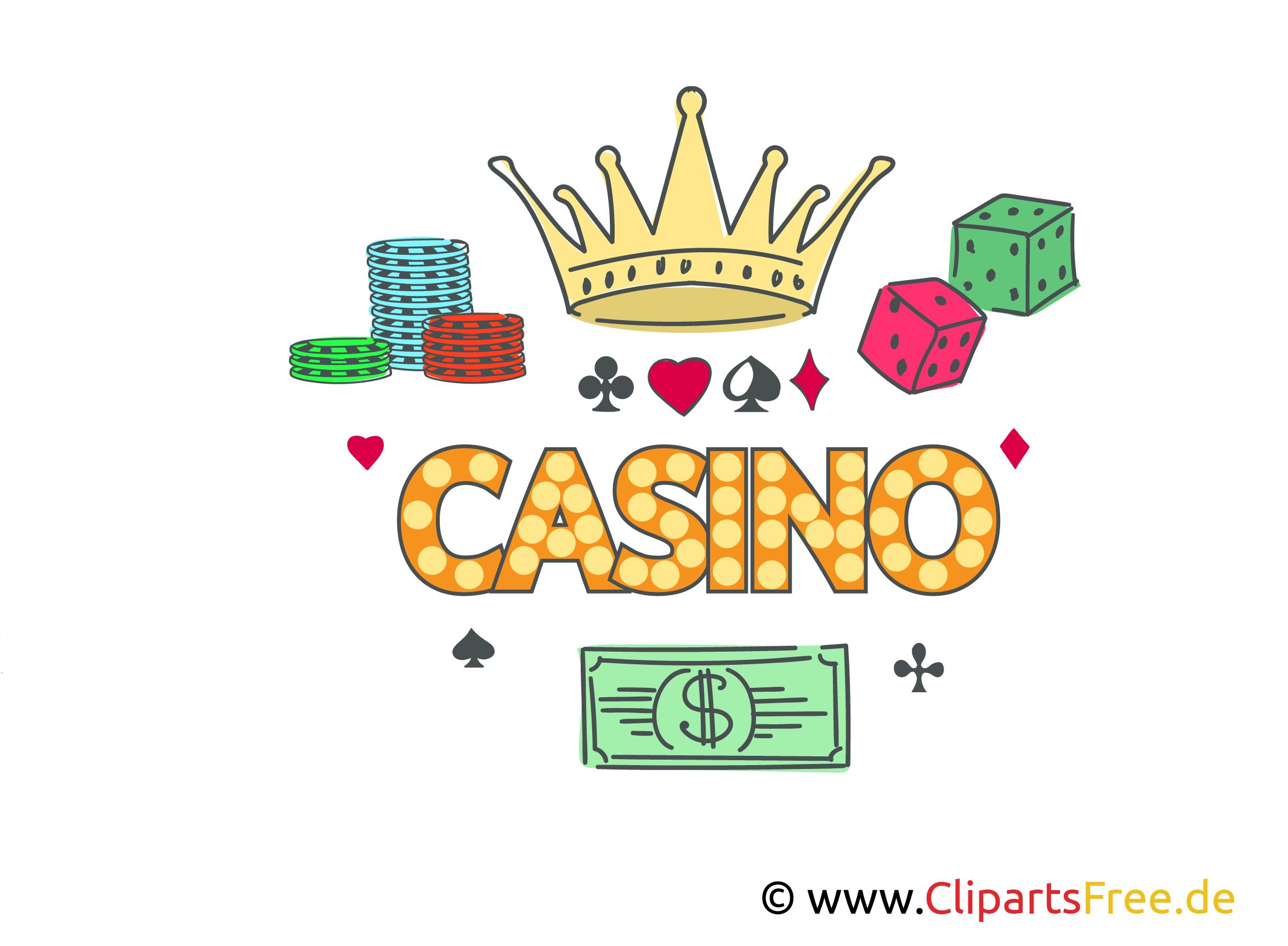 Casino Bilder, Cliparts, Illustrationen