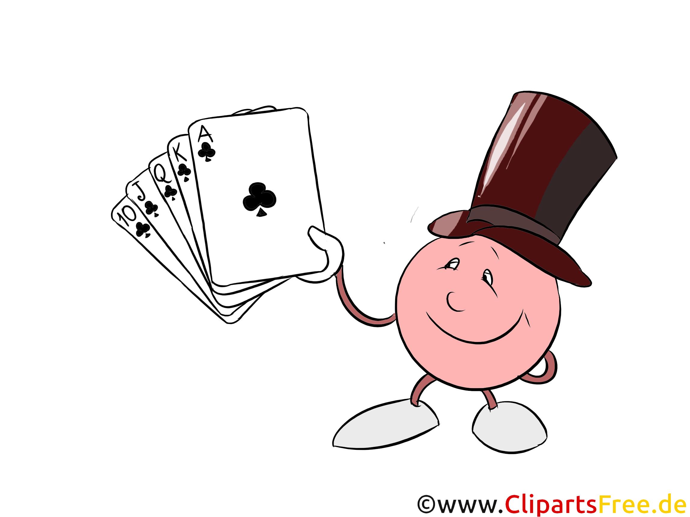 Kartenspiel Clipart
