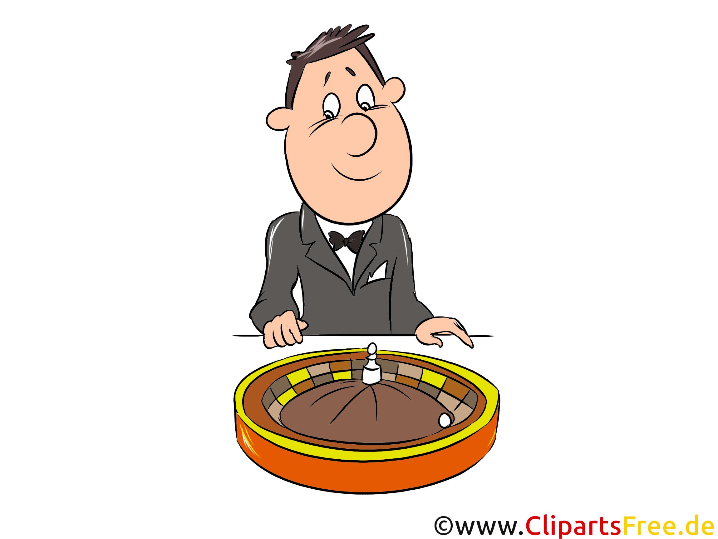Szczegółowy ruletka kasyno, kliparty