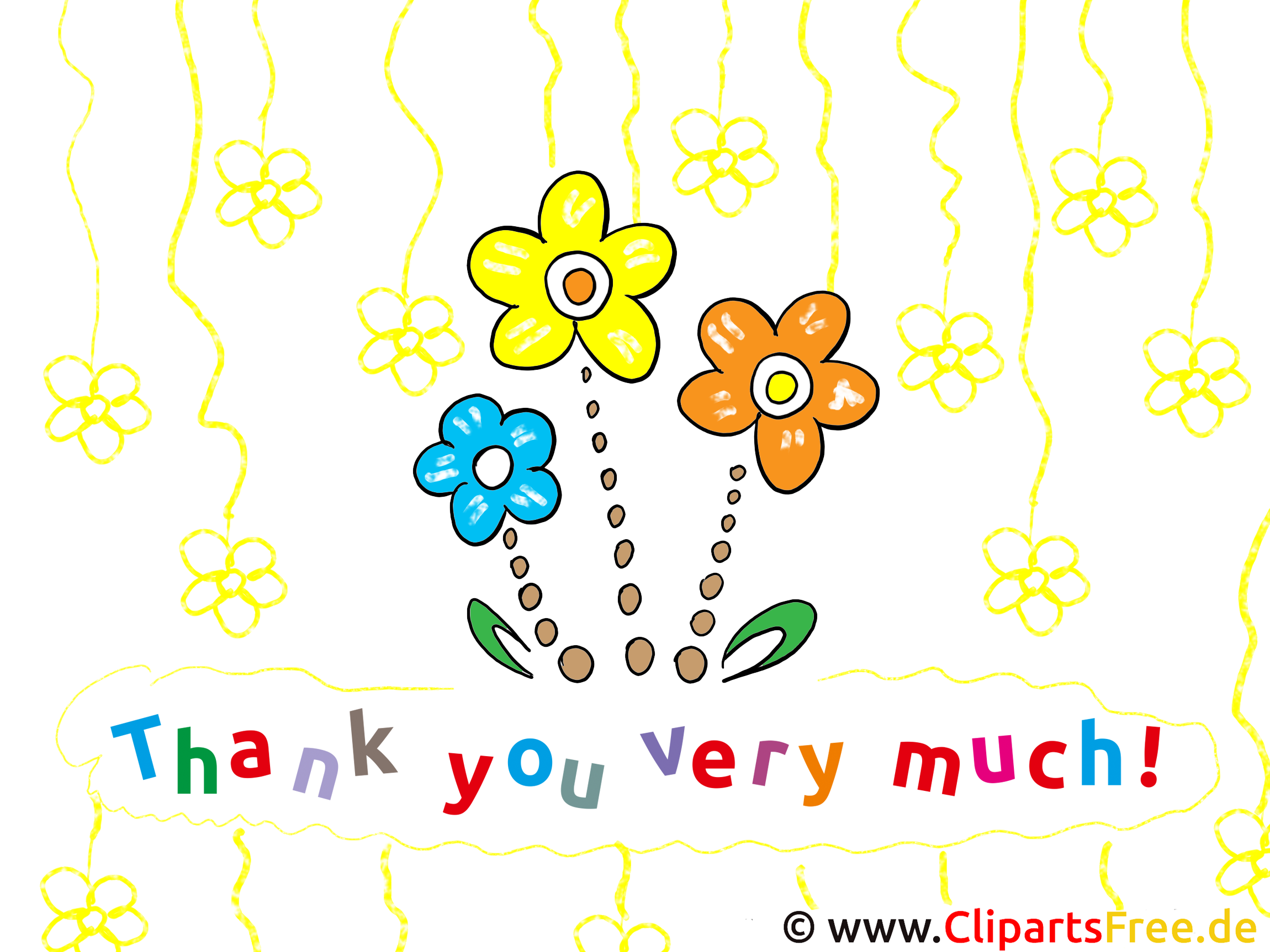 Thank You Clip Art free