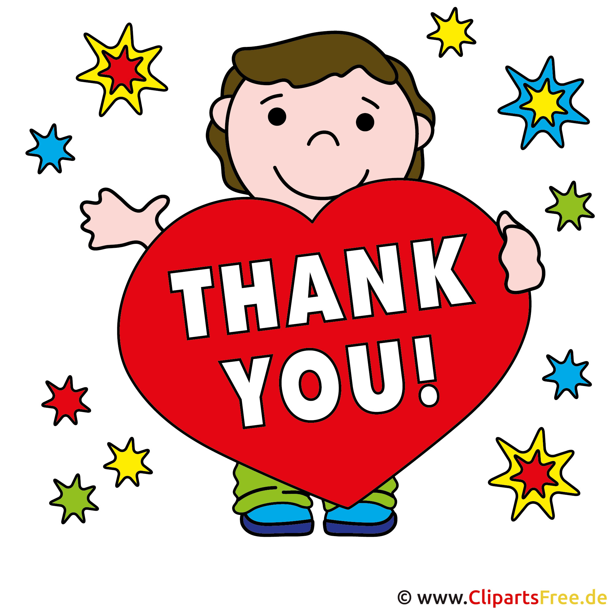 Who Needs A Face Anyway: Thank You Clipart Free