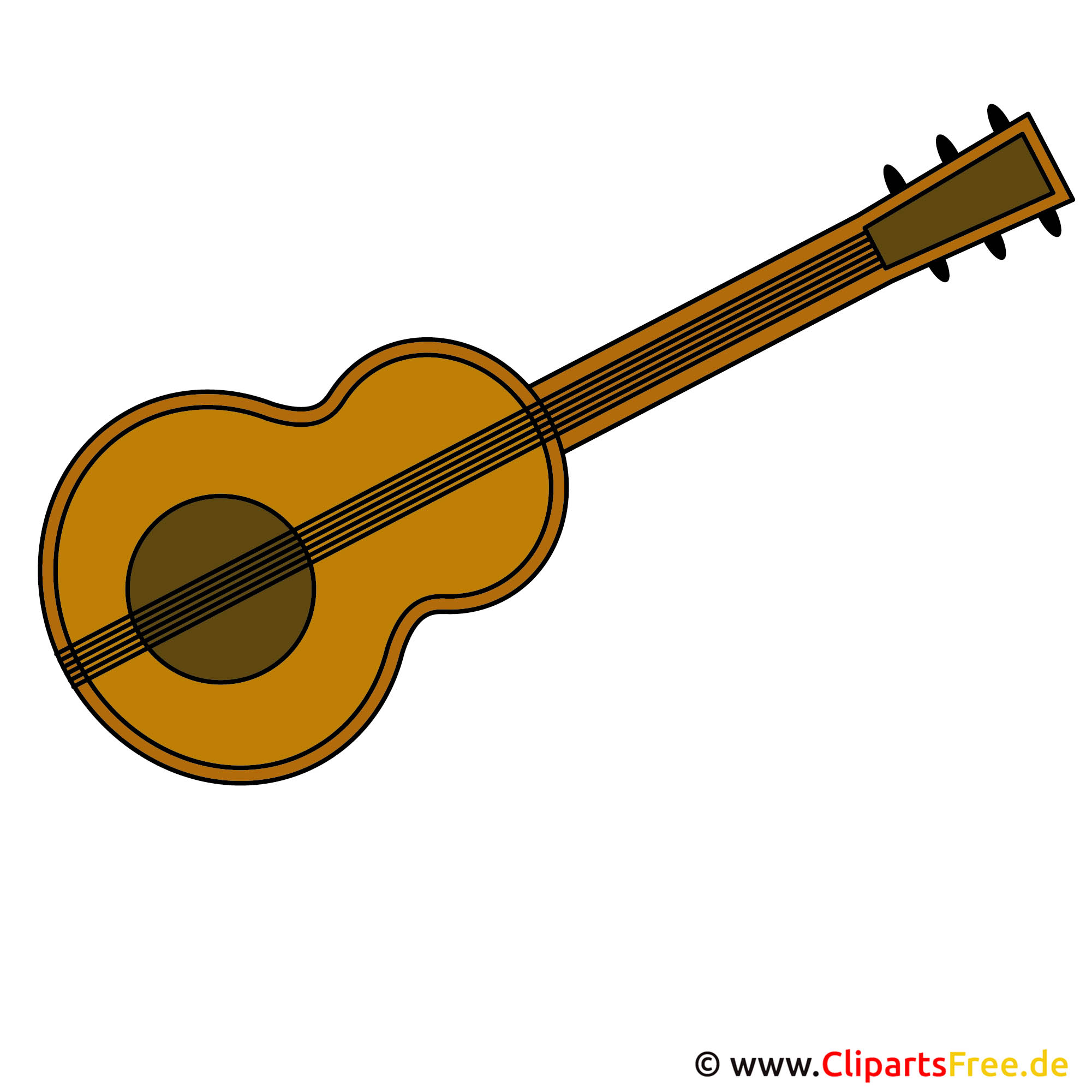 Gitarre Clipart