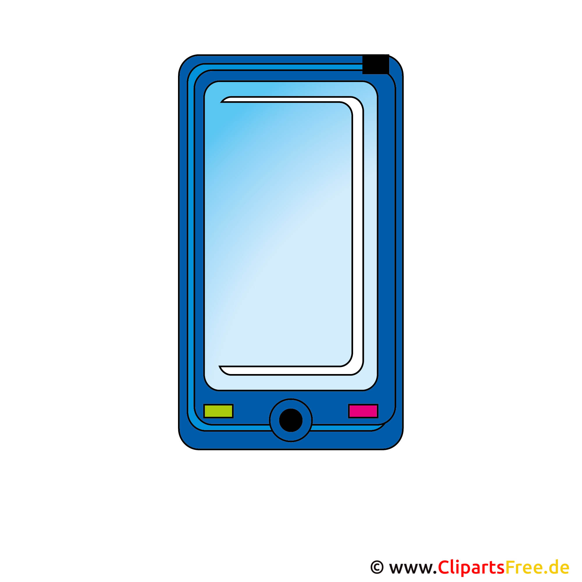 Clipart Handy, Smartphone, Device