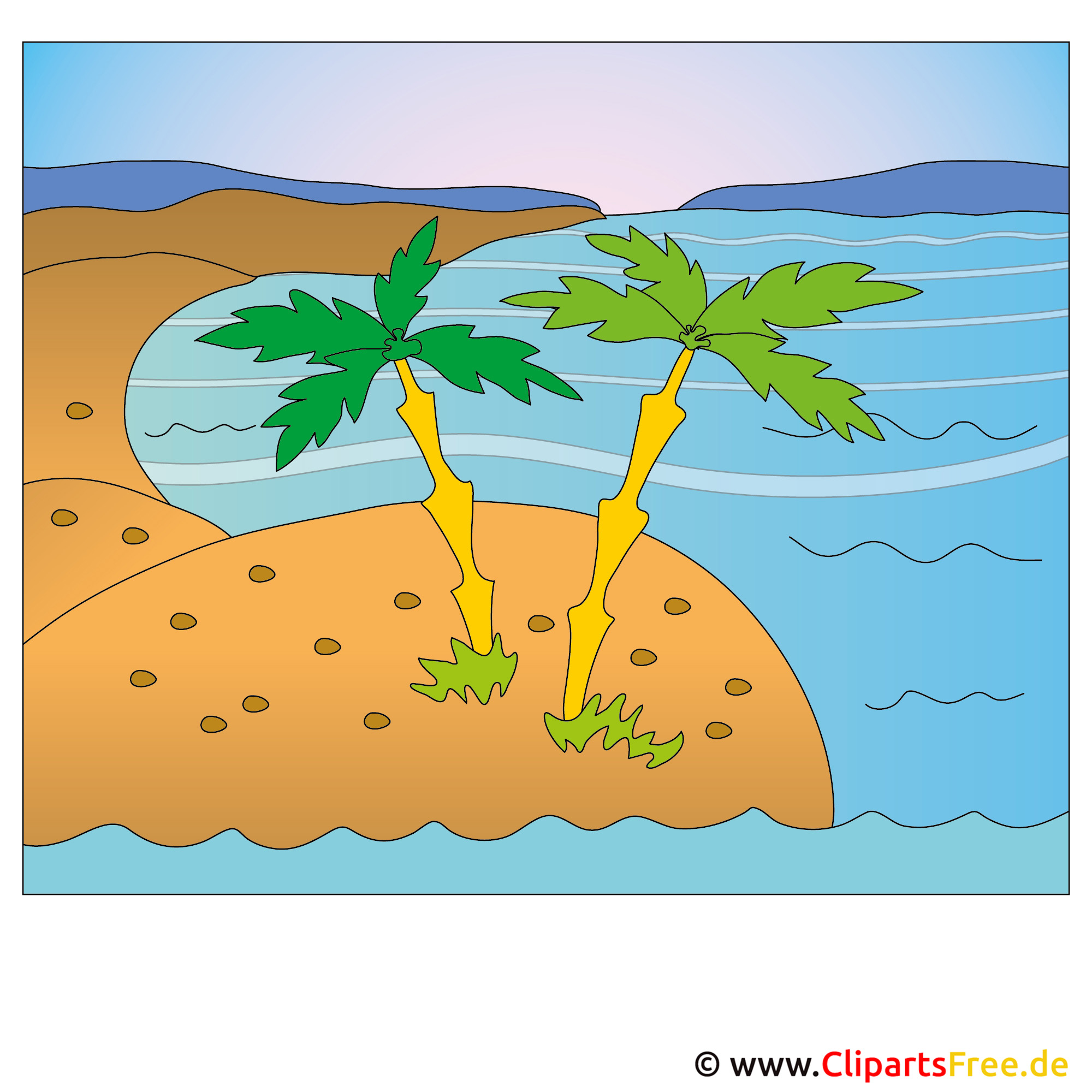 Insel Clipart