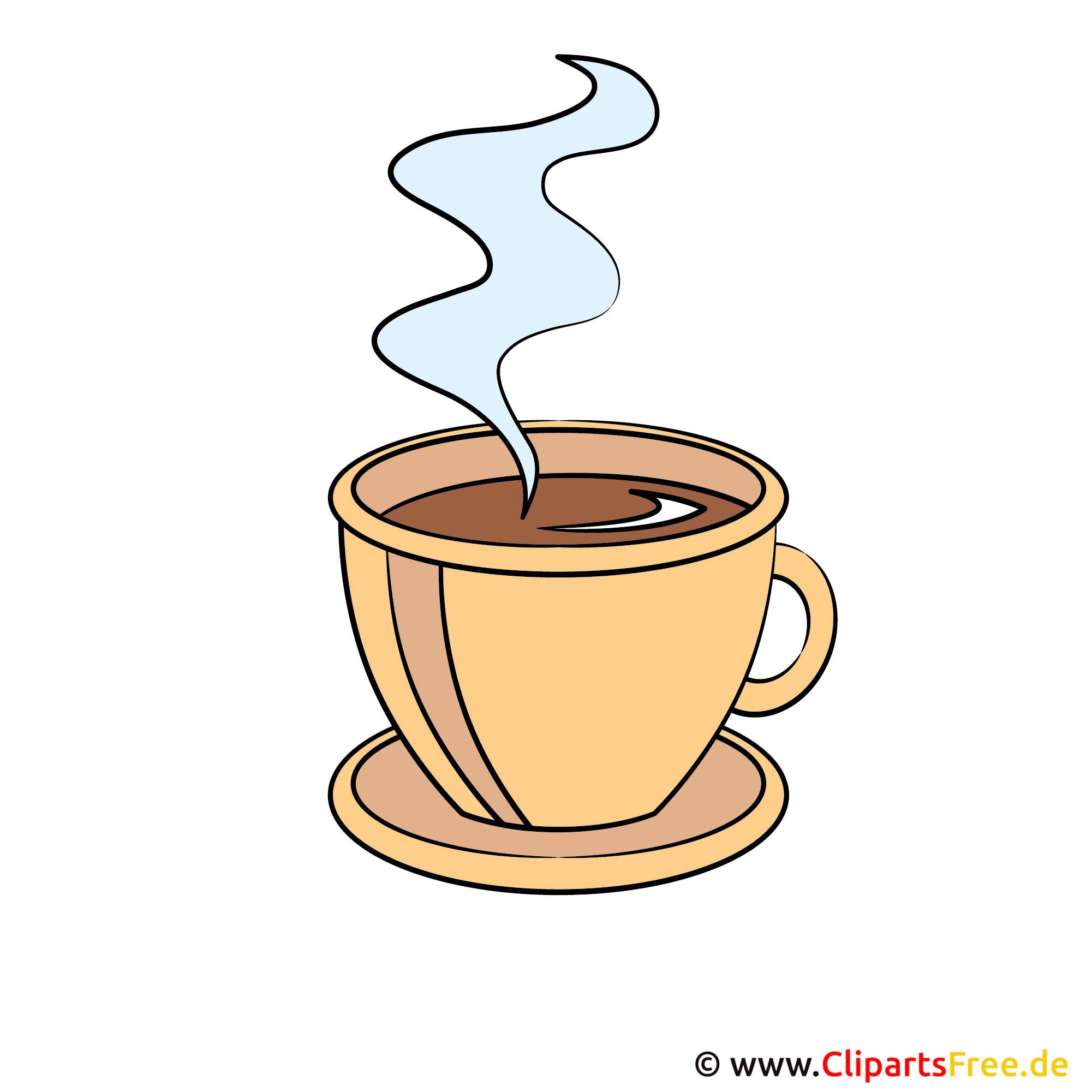 Kaffeetasse Clip Art, Bild, Grafik, Illustration
