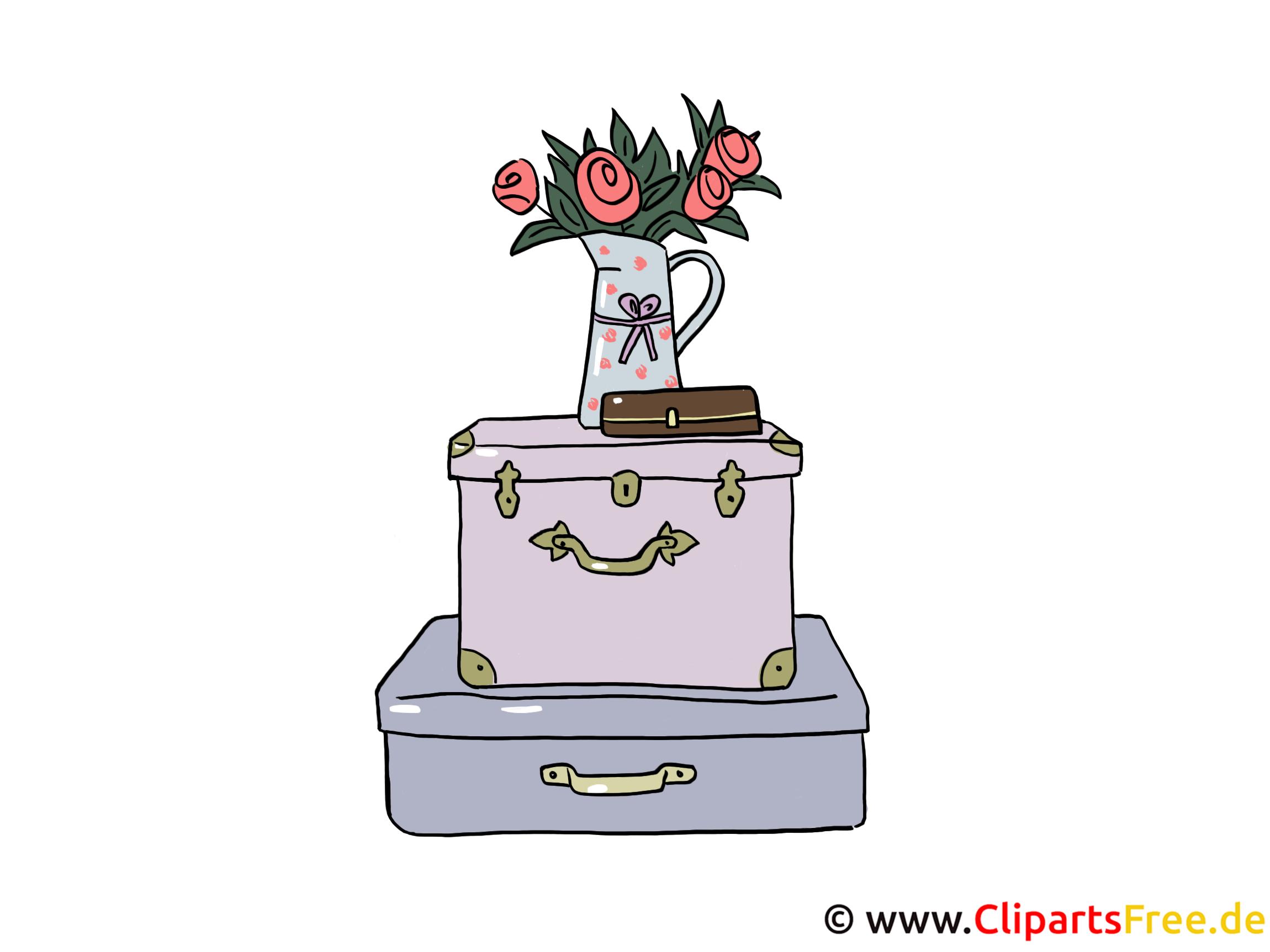 kofferter clipart