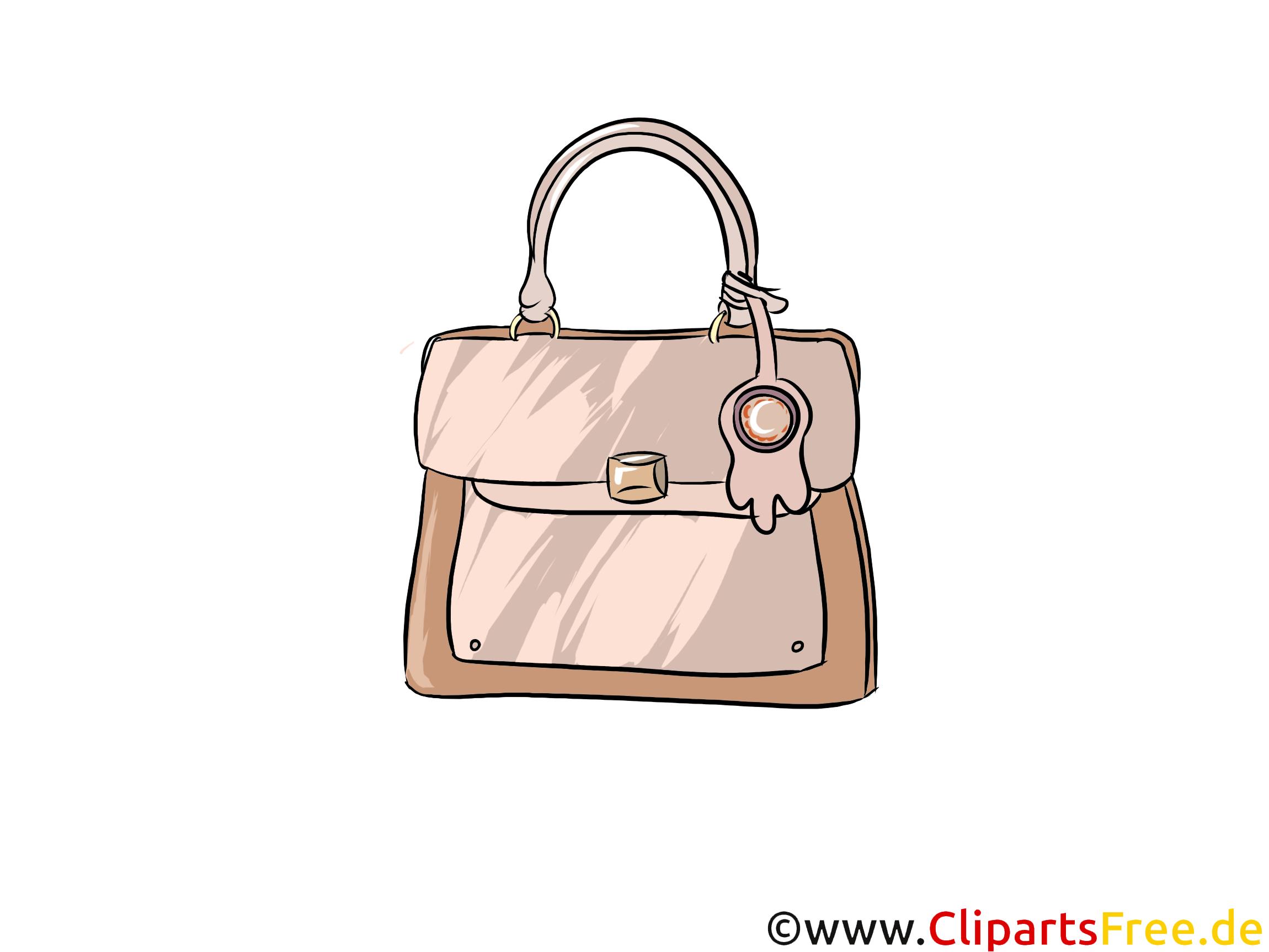 Frauentasche Bild, Illustration, Clipart
