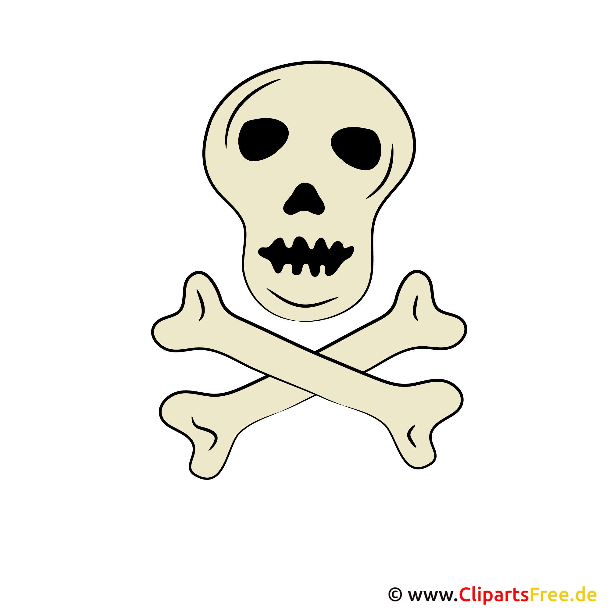 Totenkopf Clipart