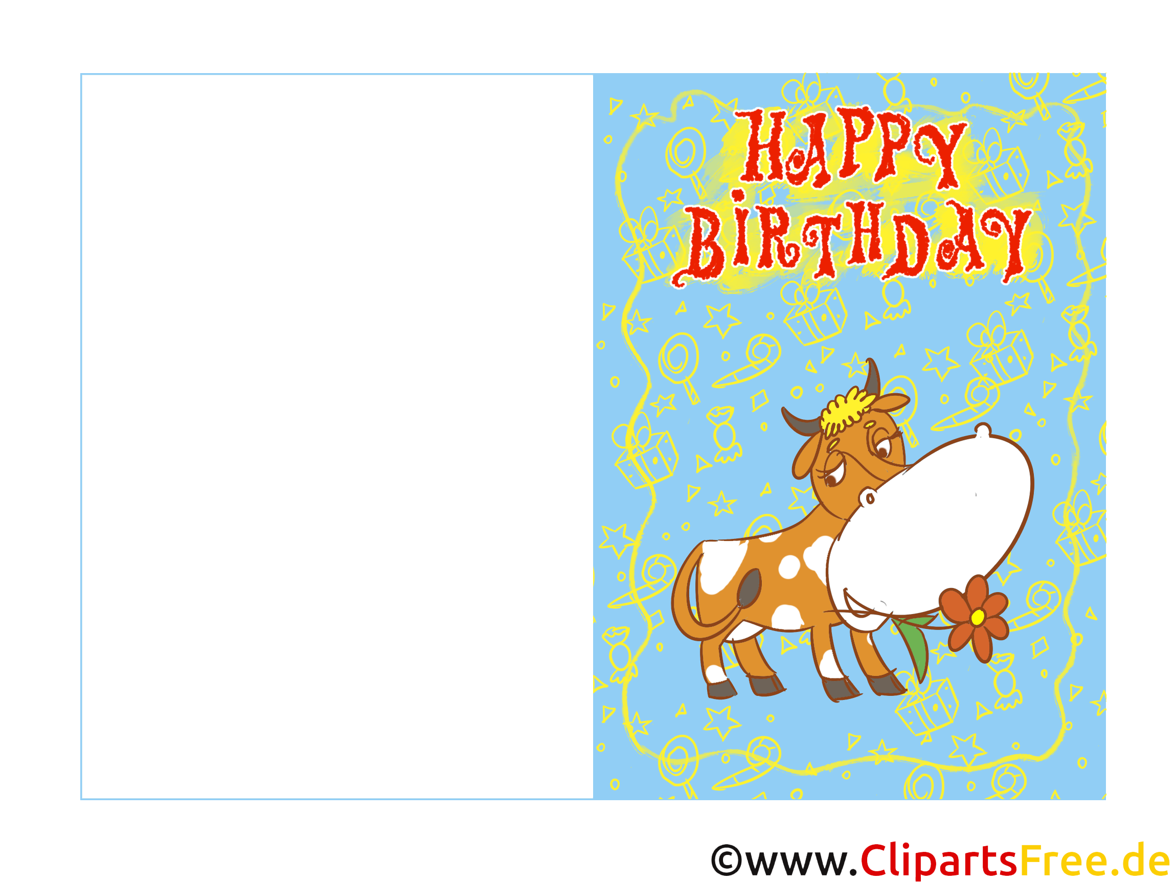 Geburtstagskarten ecards zum selbst drucken zum for Geburtstagskarten gratis drucken