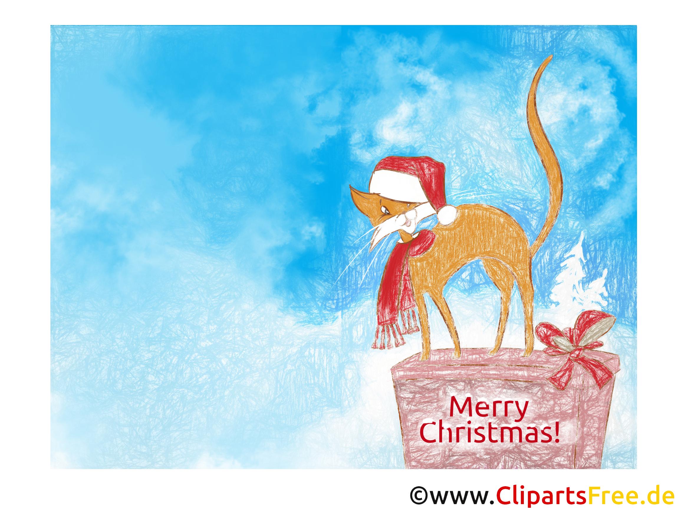 Weihnachtskarten Design zum Drucken