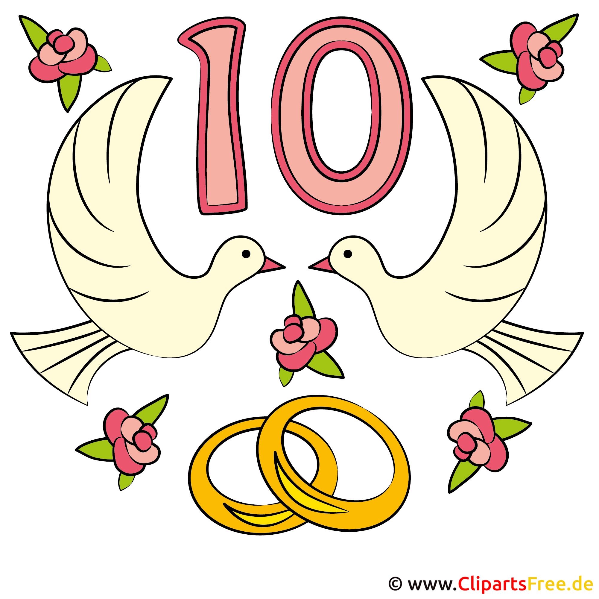 einladung zur rosen-hochzeit mit unseren cliparts selbst gestalten, Einladungen