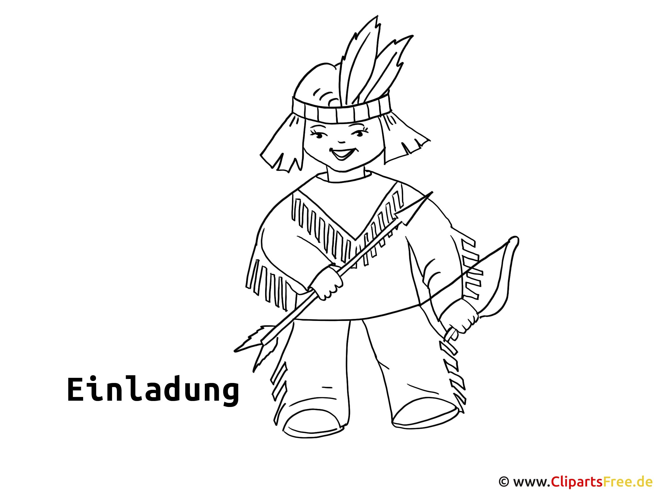 Indeaner Clipart