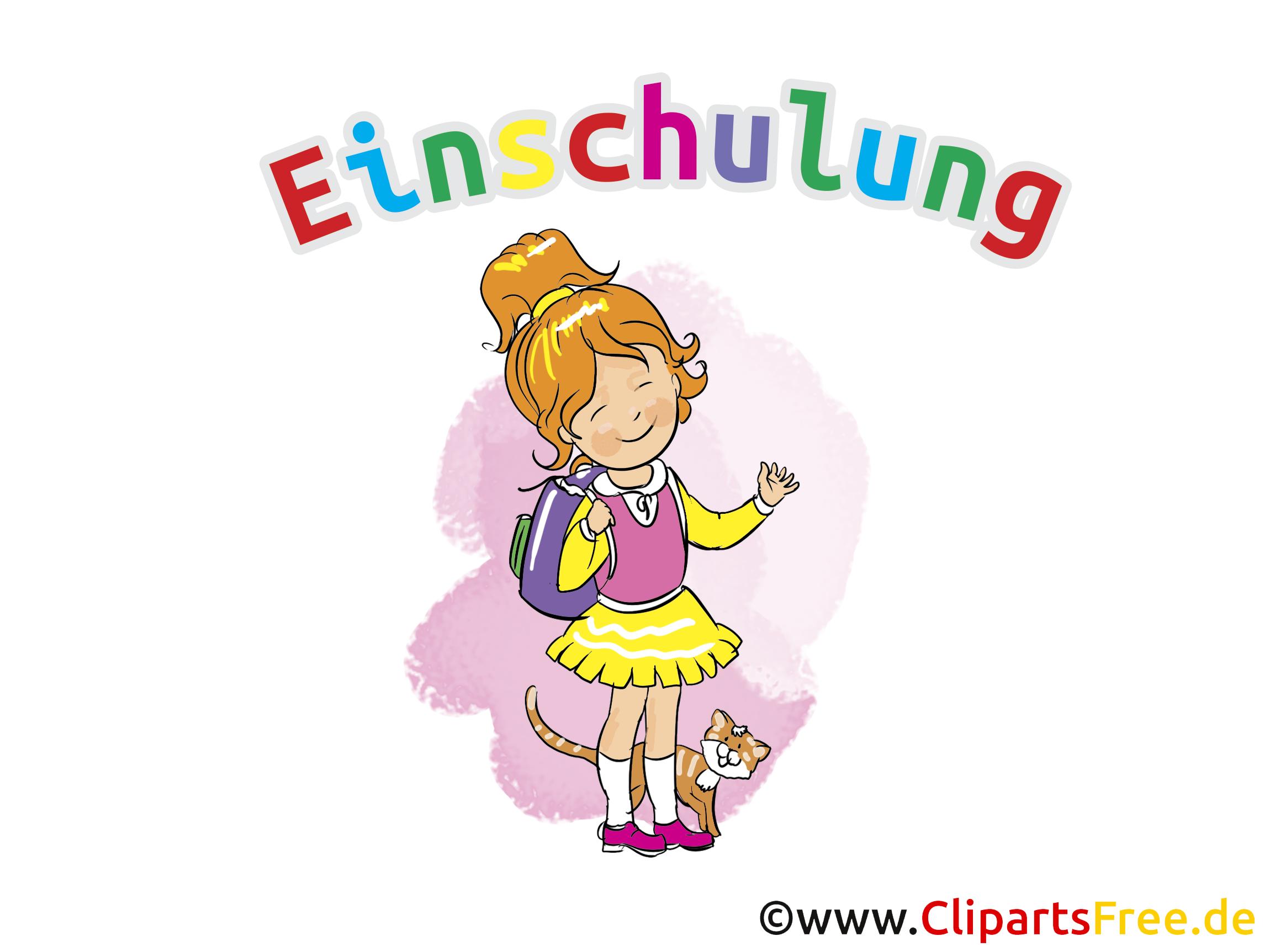 Clipart Schulanfang