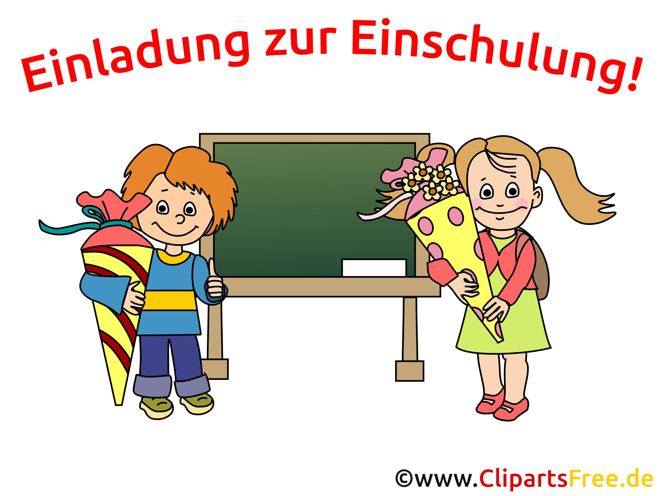 Einladung Schuleinführung