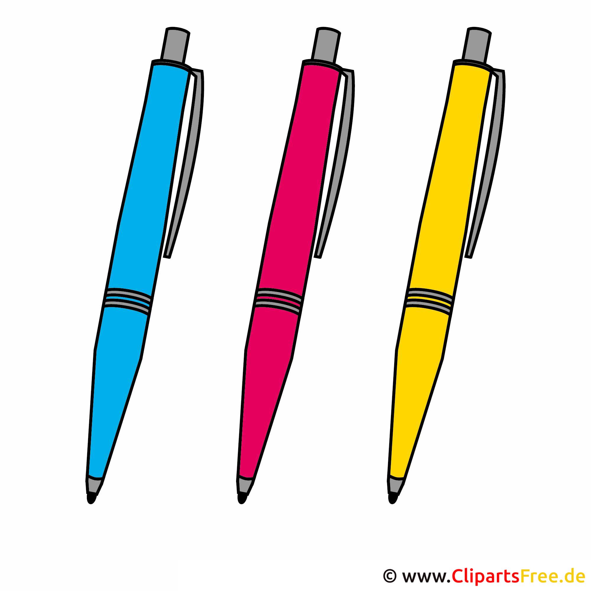 Kugelschreiber Clipart-Bild kostenlos