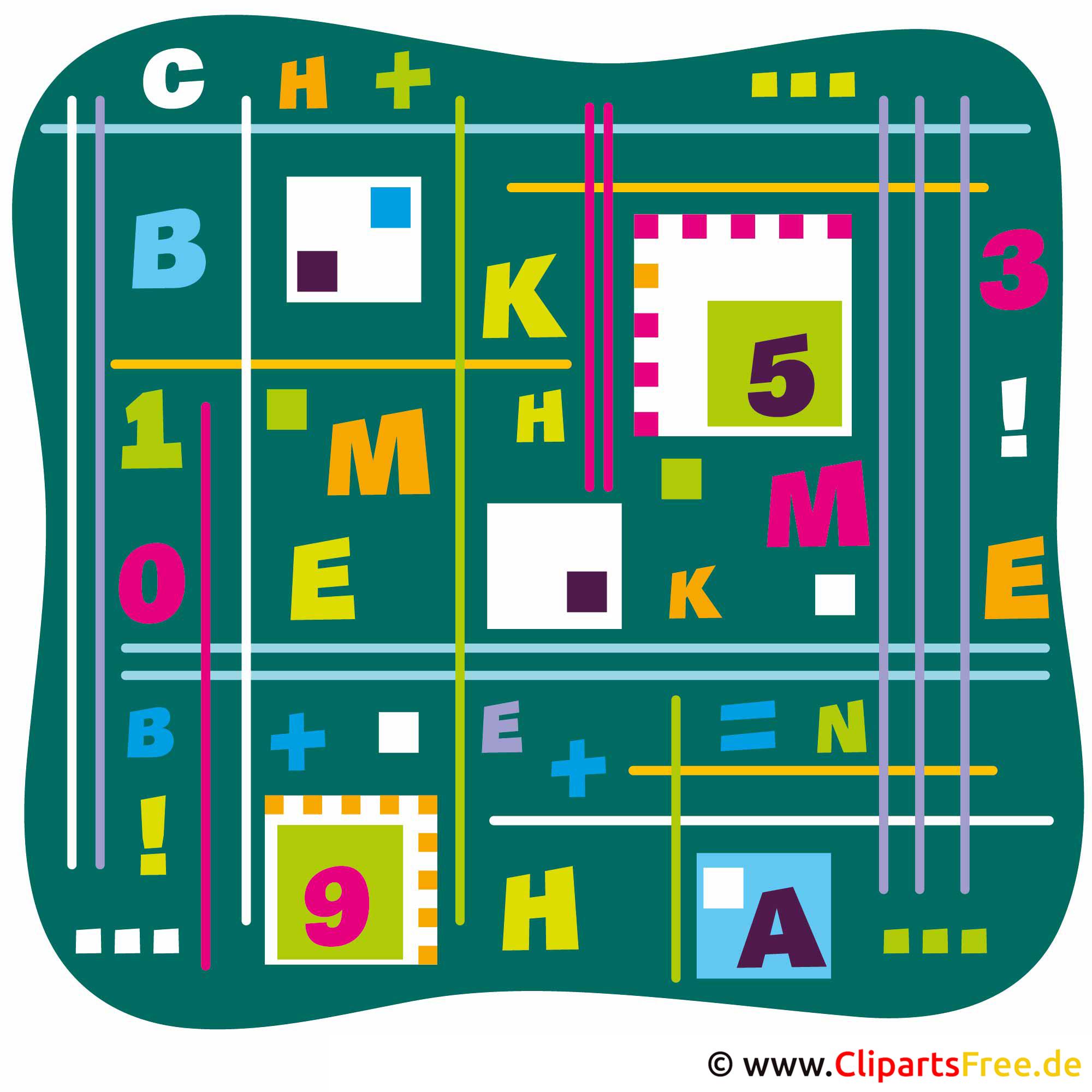 Schulbilder gratis - Chemie und Mathe