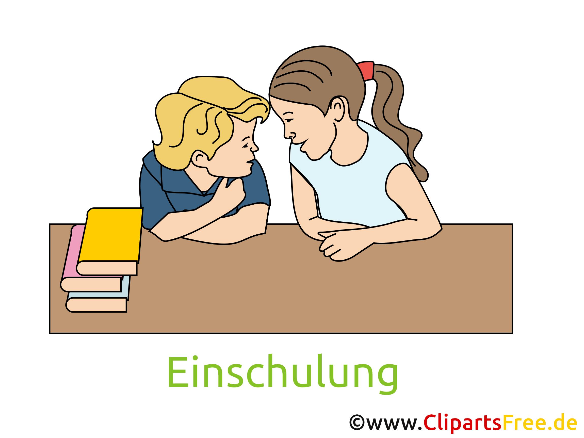 Schuleinführung Einladung, Clipart, Bild