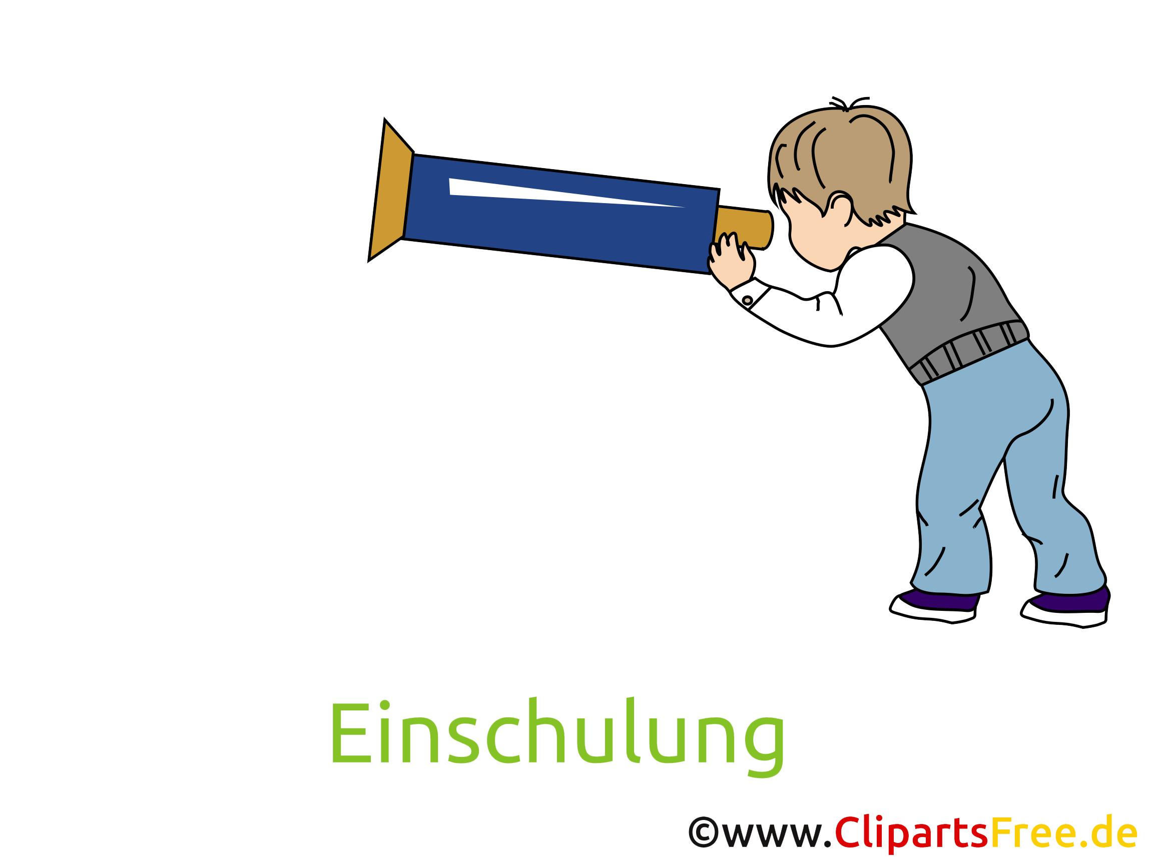 Schulkind Bild, Clipart, Cartoon gratis