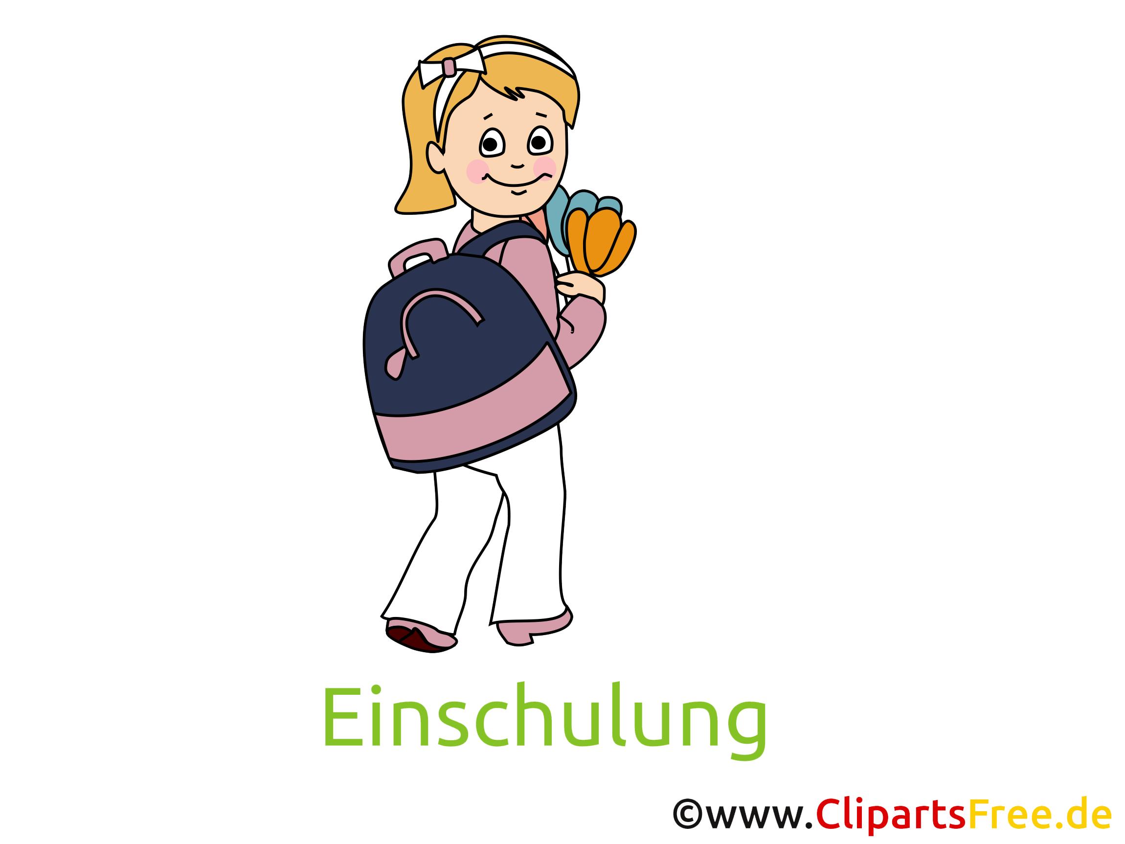 Zum Schulanfang Bilder, Cliparts, Cartoons gratis