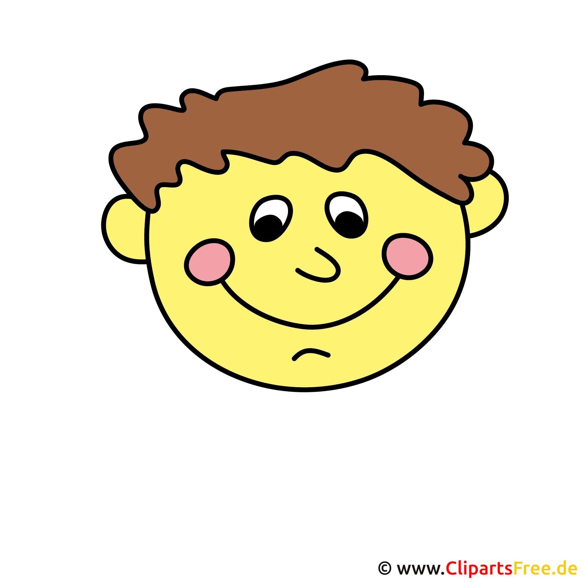 Emocions Boy Clipart
