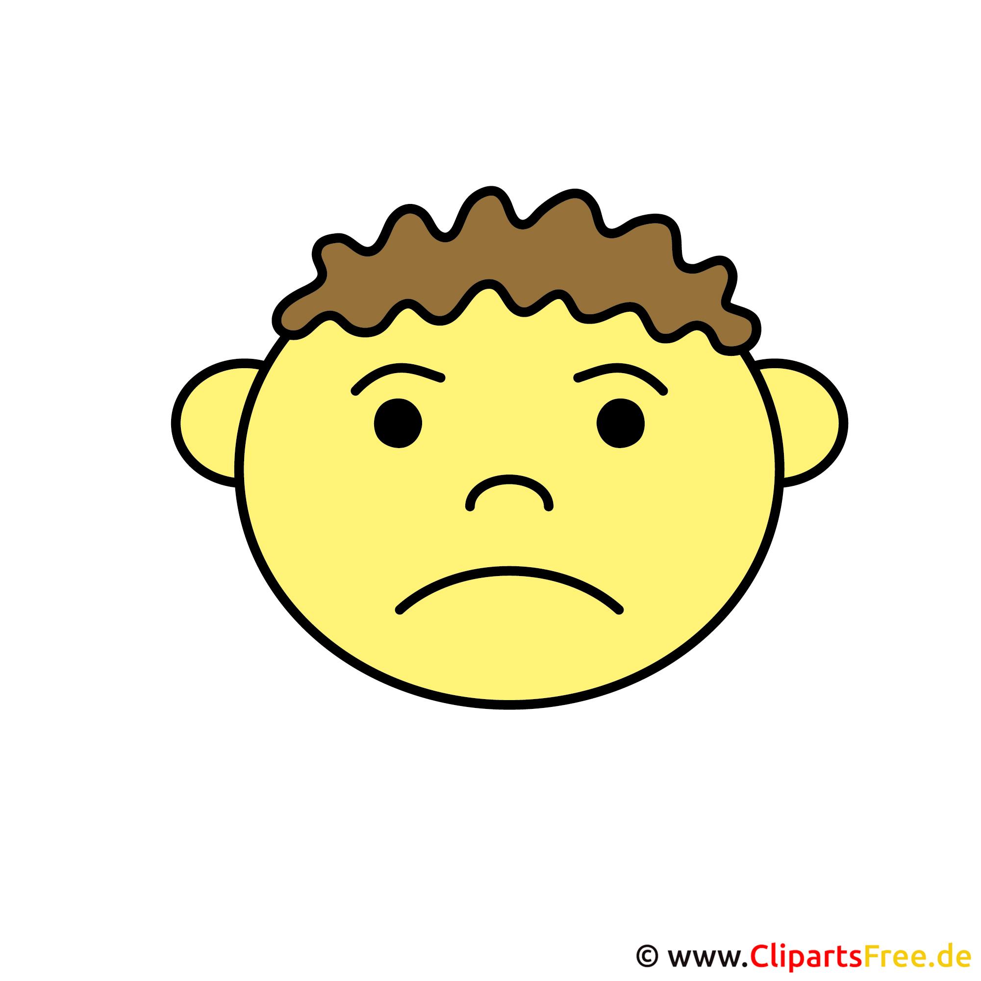 Emoticon Boy Face