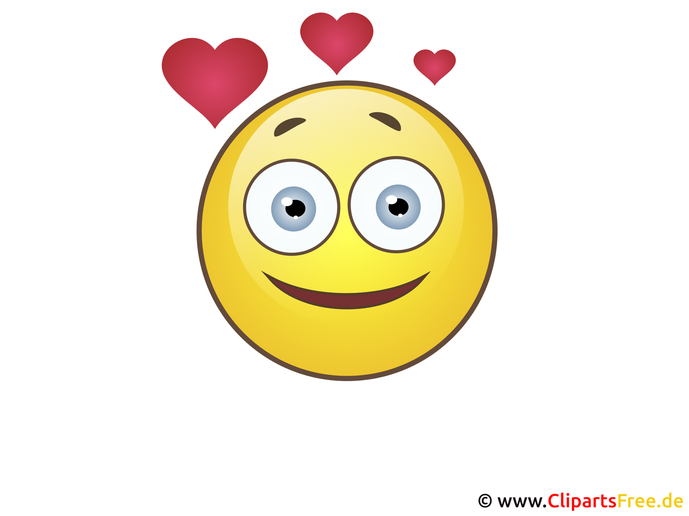 Smiley Liebe