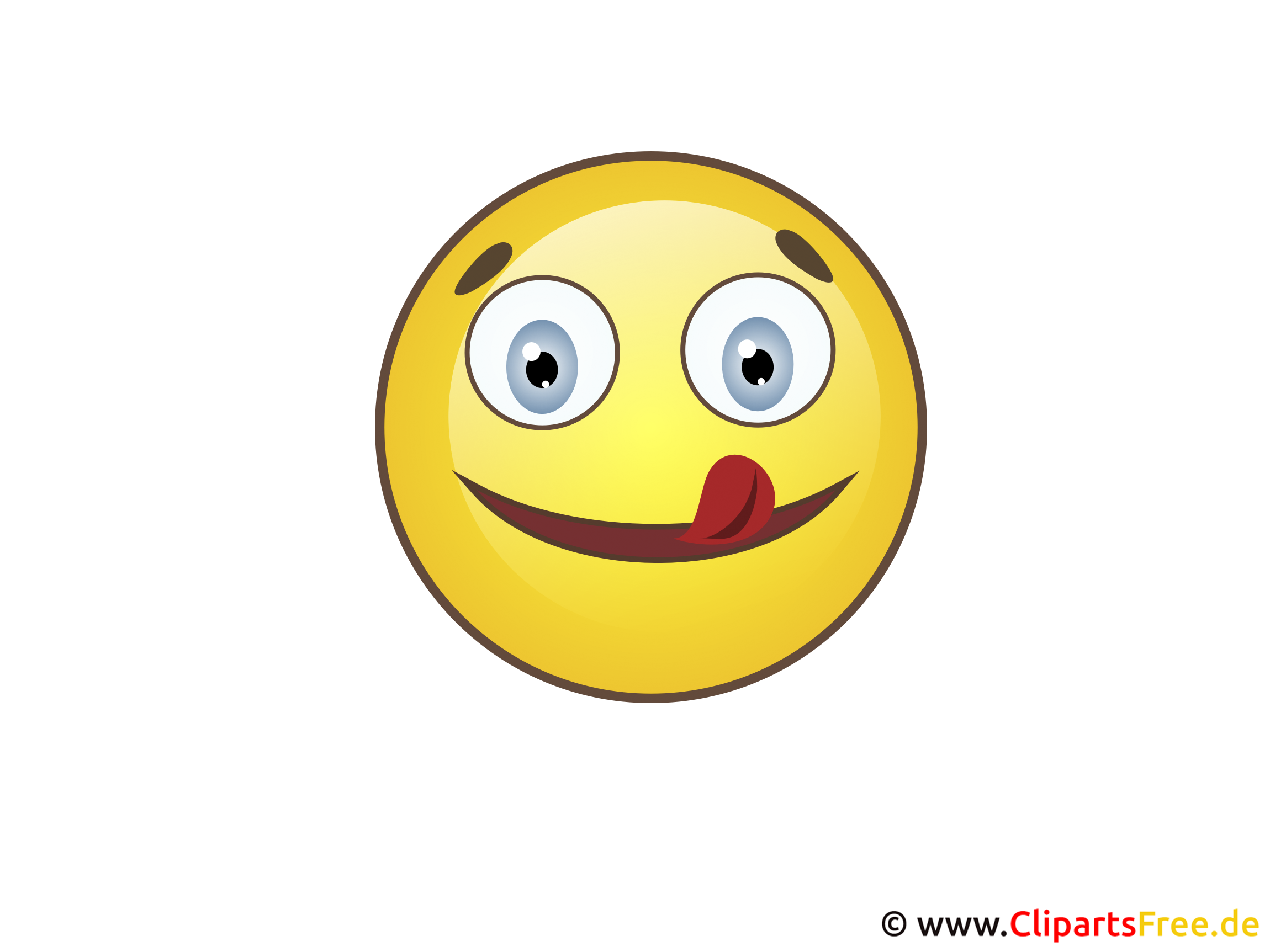 Smiley Mit Zunge