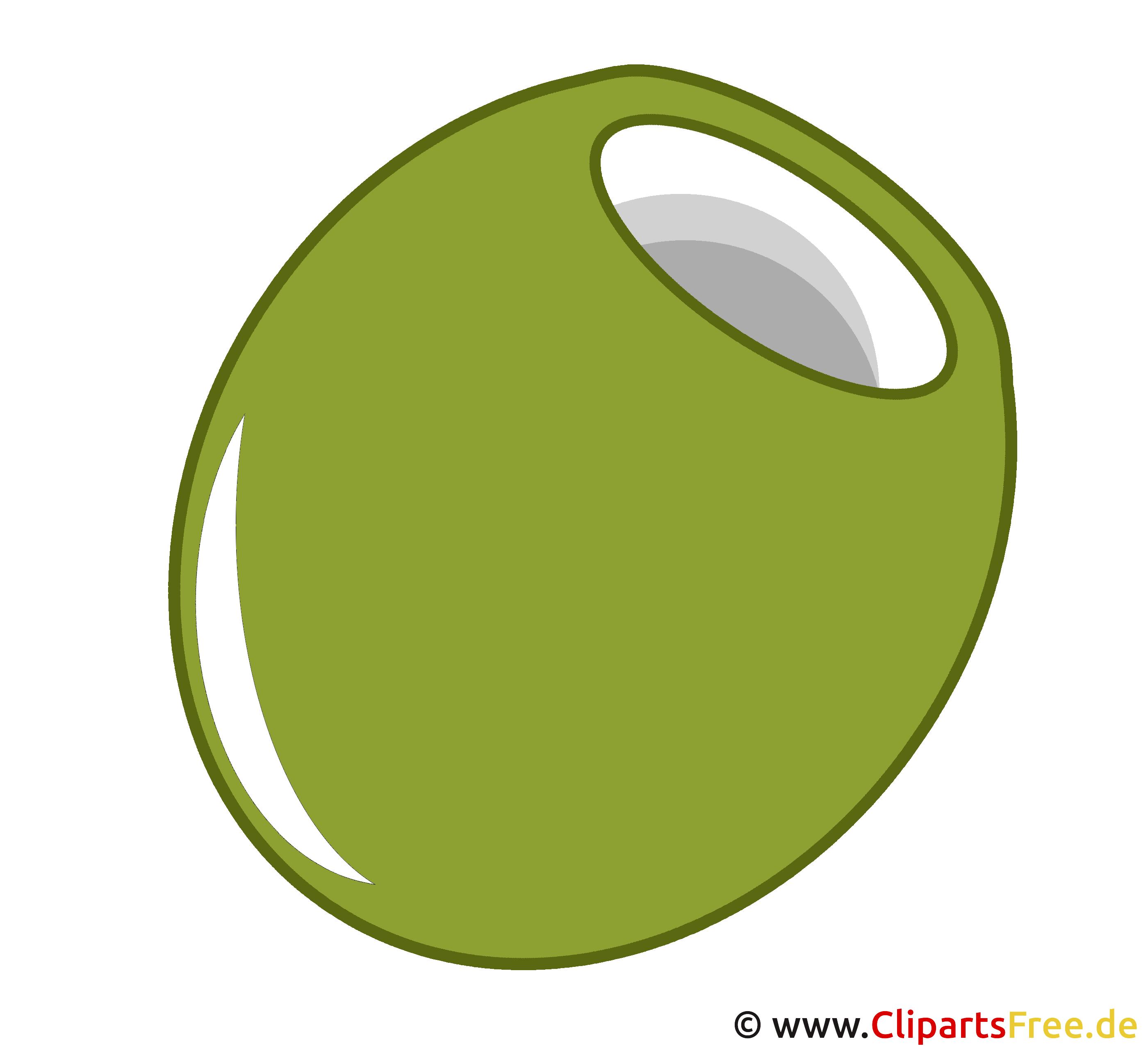 Clipart Olive grün