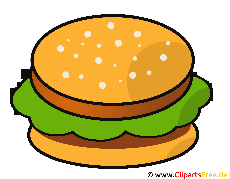 Comic Hamburger