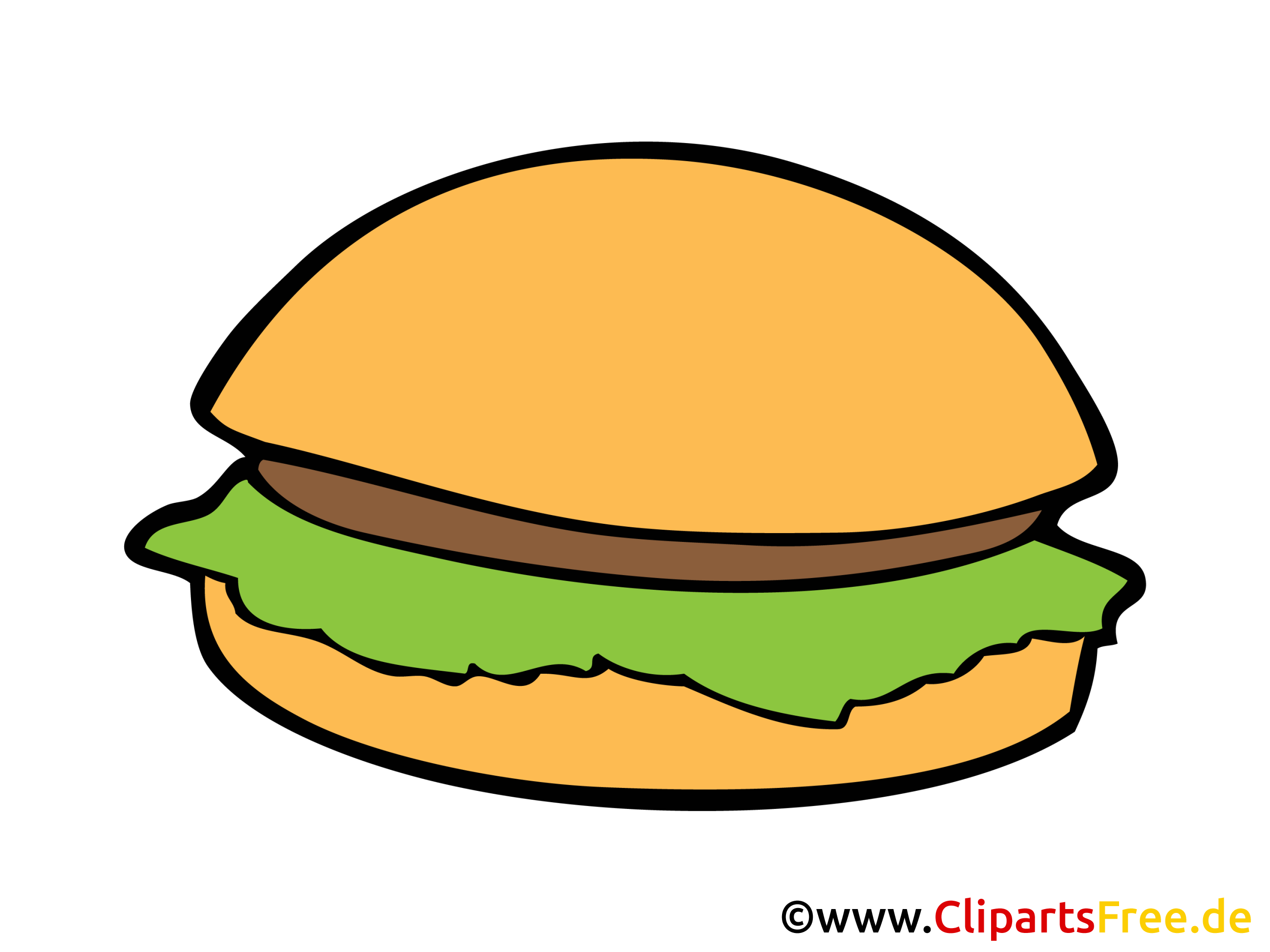 Fast Food Bild, Clipart, Illustration, Grafik, Zeichnung kostenlos